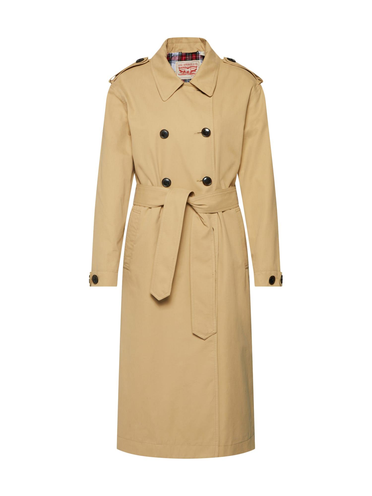 LEVIS Přechodný kabát Kate camel LEVI'S
