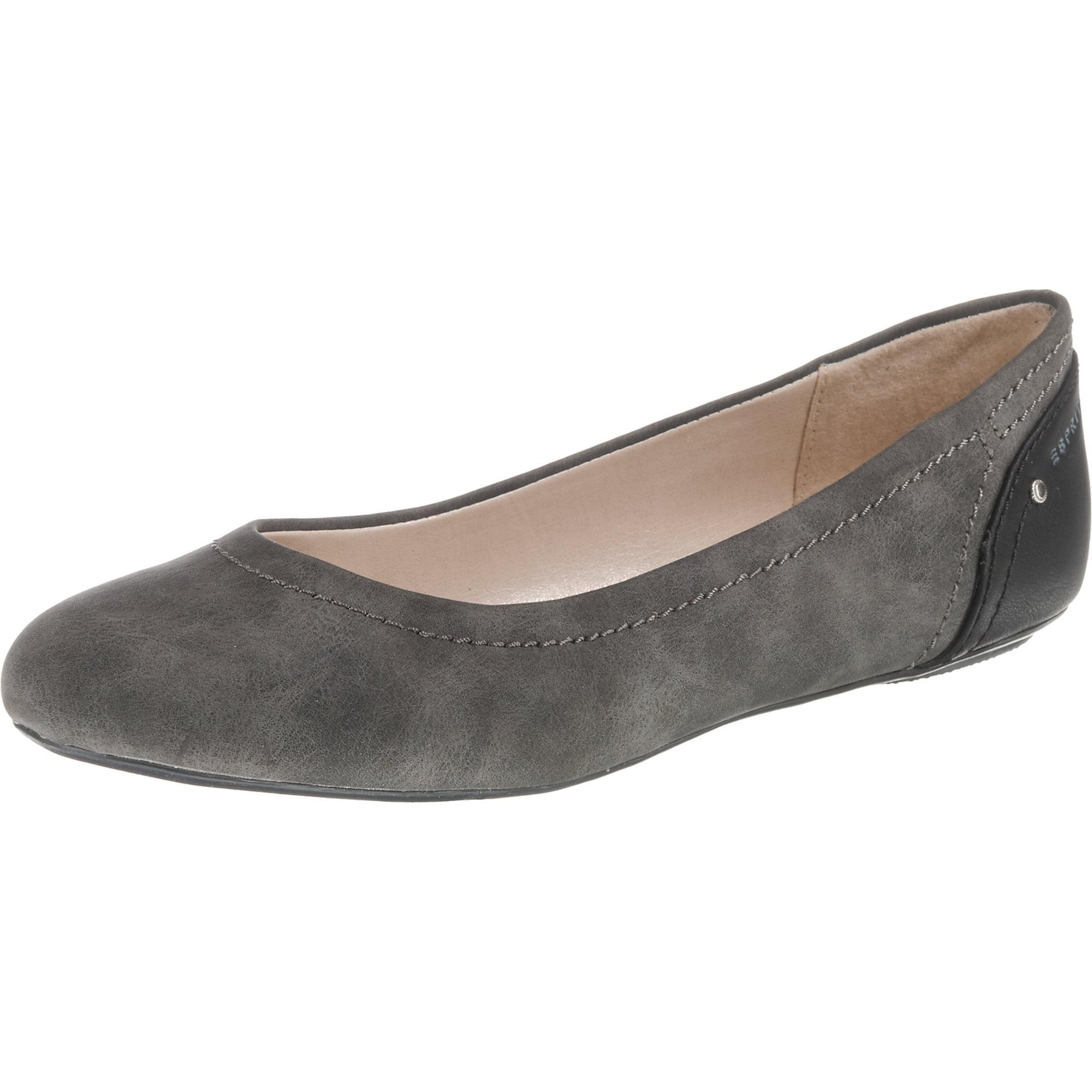 Ballerina 'ALOA' | Schuhe > Ballerinas | Anthrazit | Esprit