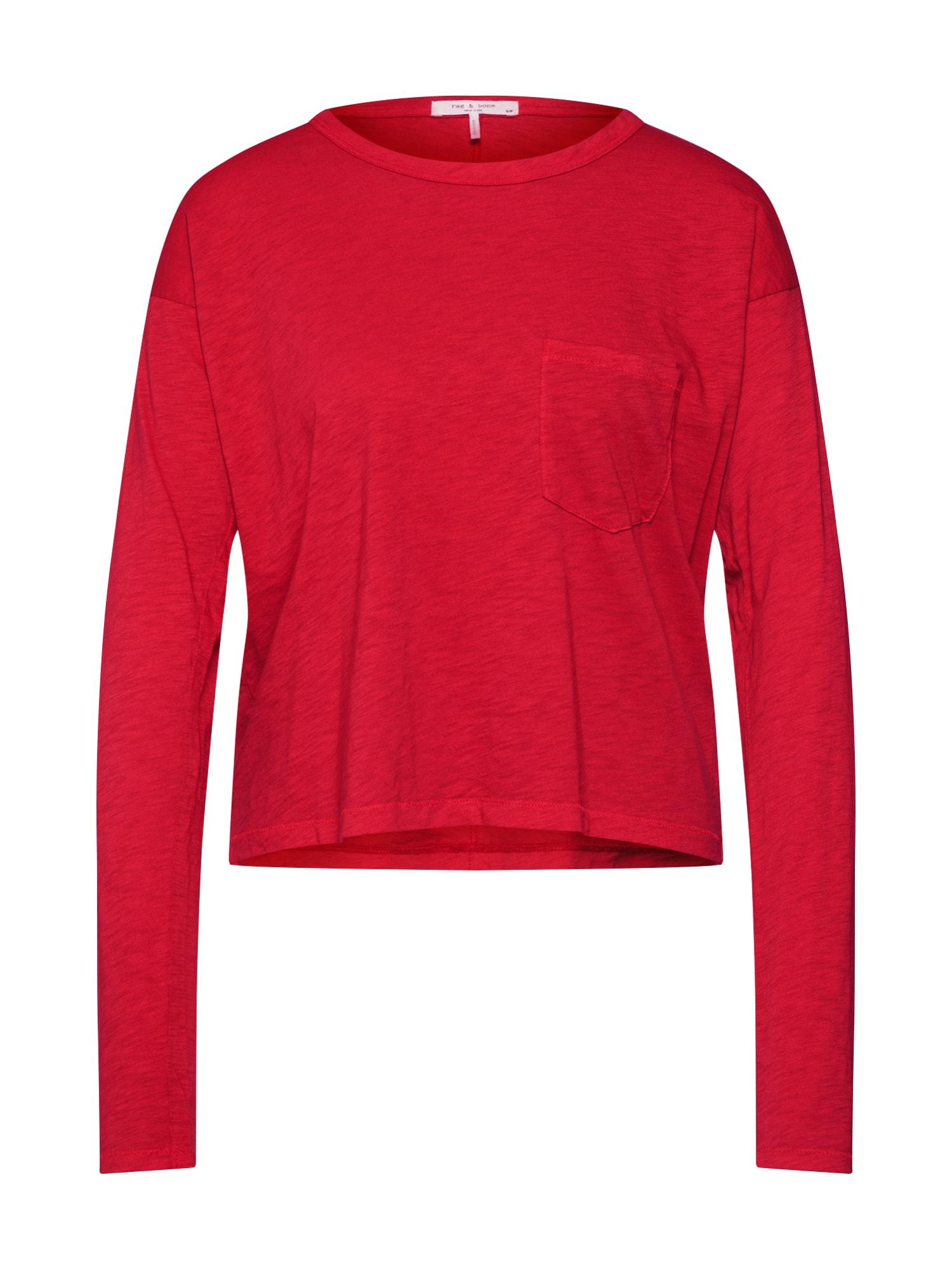 Tričko červená Rag & Bone