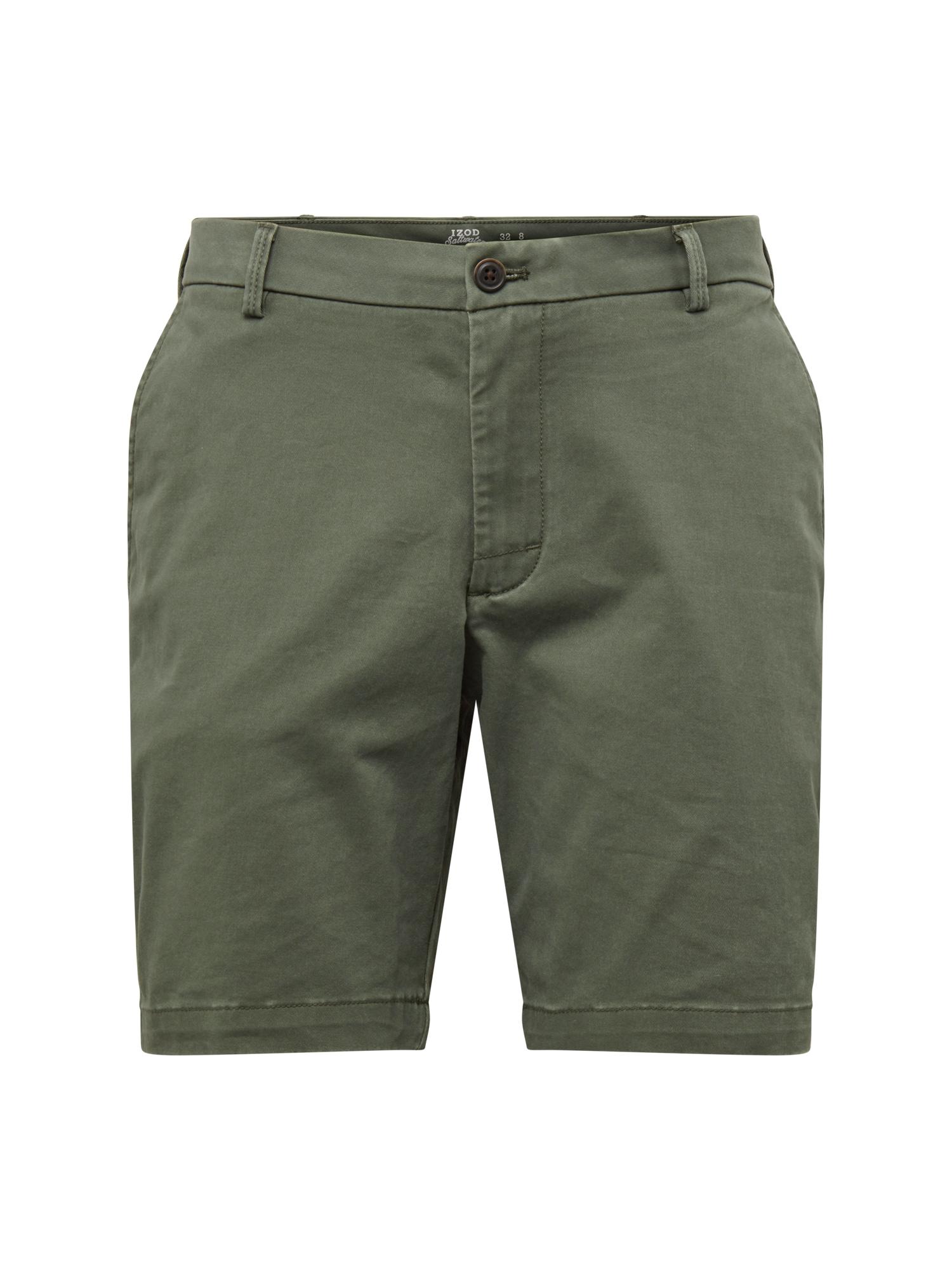 Chino kalhoty SALTWATER tmavě zelená IZOD