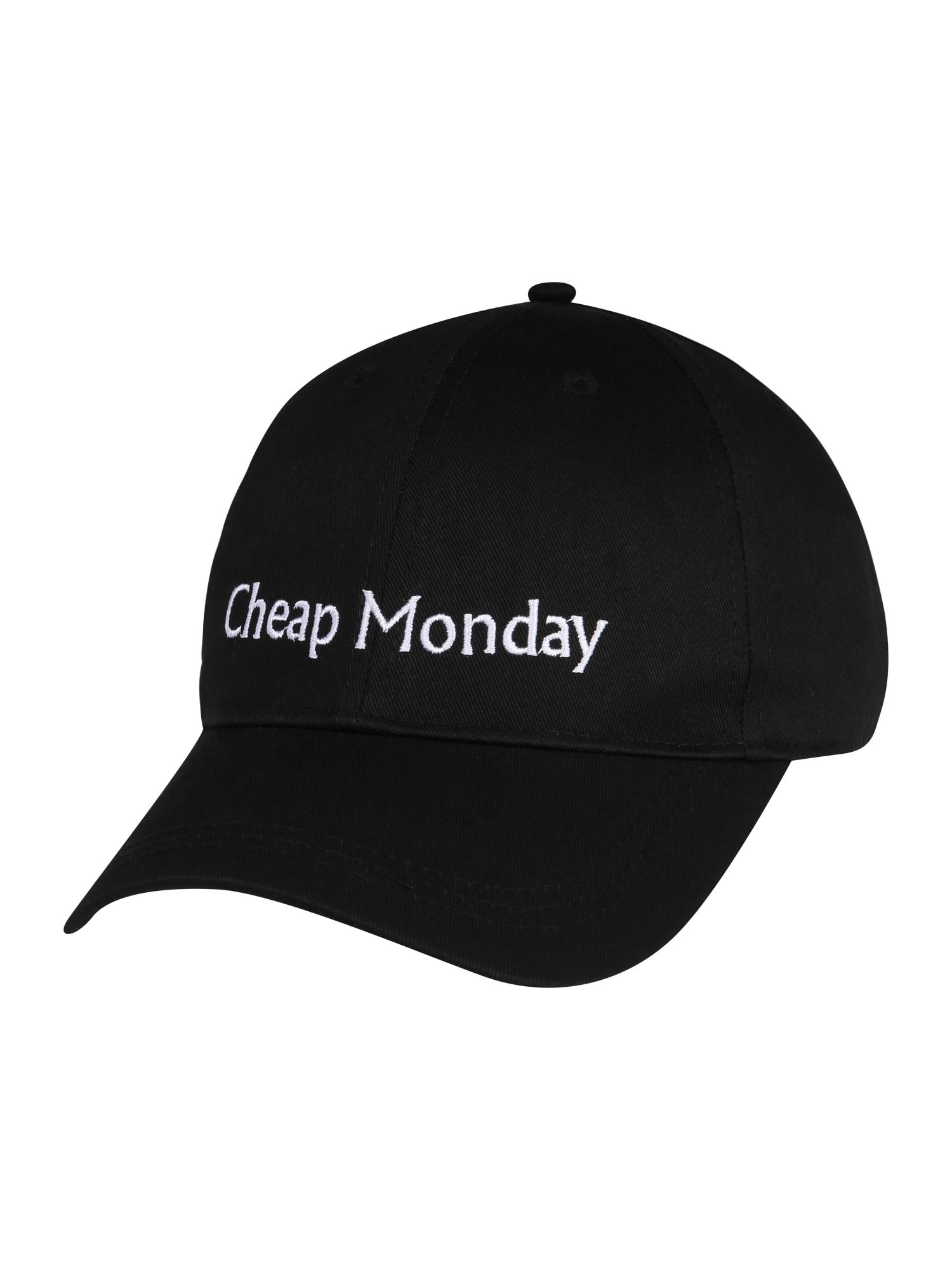 Kšiltovka černá CHEAP MONDAY
