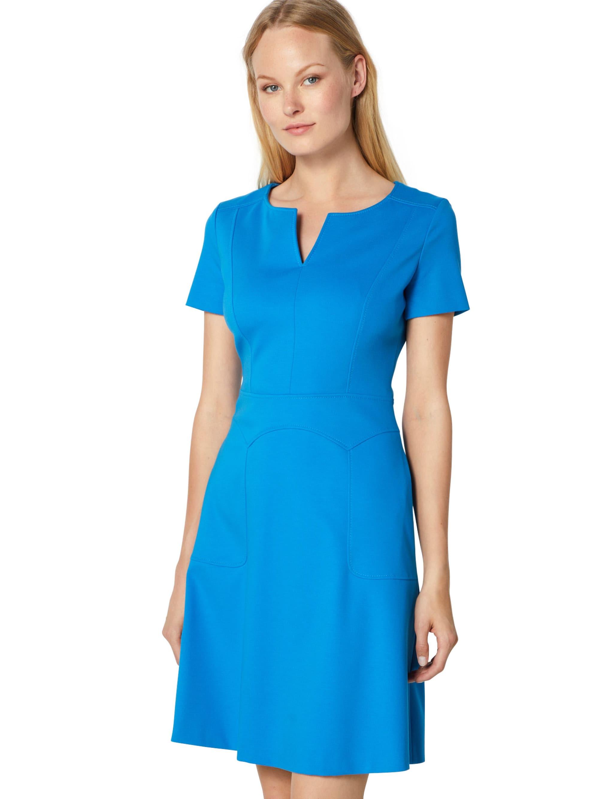 HUGO Sukienka etui 'Keziani'  kobalt niebieski