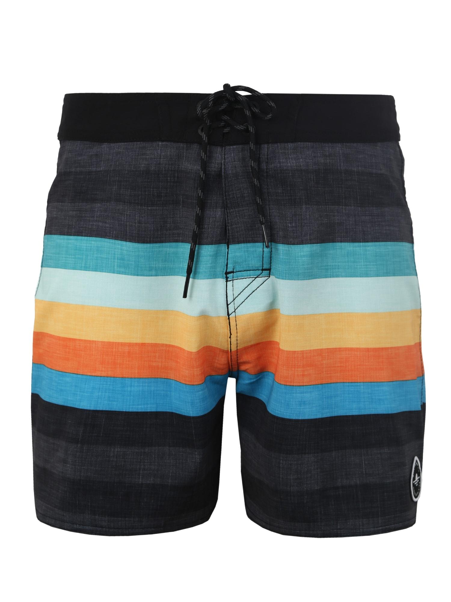 Plavecké šortky RETRO HEY MAMA 16 mix barev černá RIP CURL