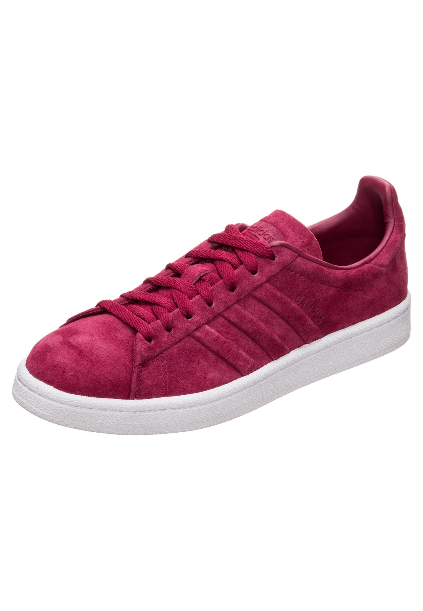 ADIDAS ORIGINALS, Heren Sneakers laag 'Campus Stitch and Turn', bourgogne
