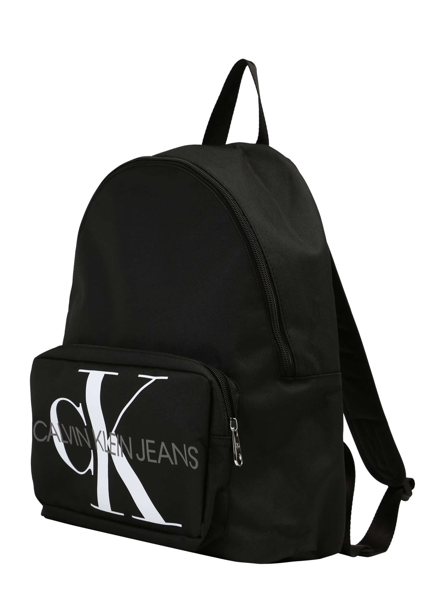 Calvin Klein Jeans Batoh 'MONOGRAM CAMPUS' čierna