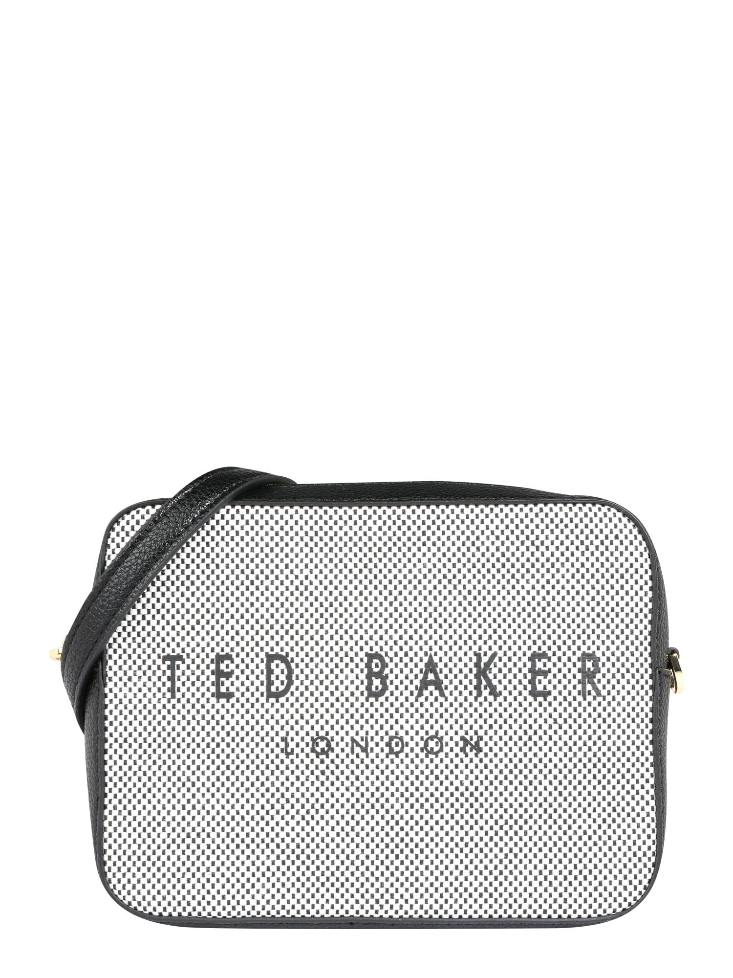 Taška přes rameno statement camera xbody bag černá bílá Ted Baker