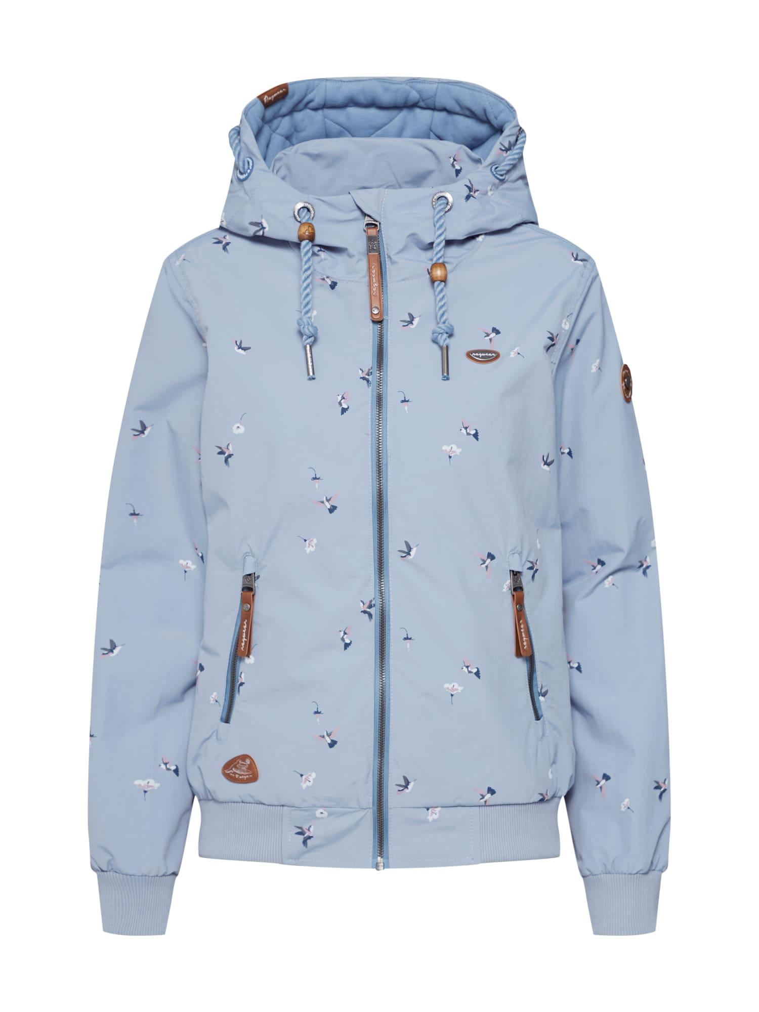 Funkční bunda Nuggie Birds kouřově modrá mix barev Ragwear