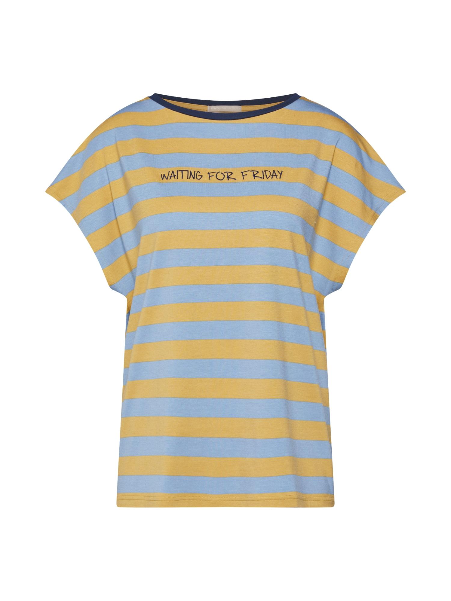 Tričko na spaní NIGHT2DAY olivová Mey