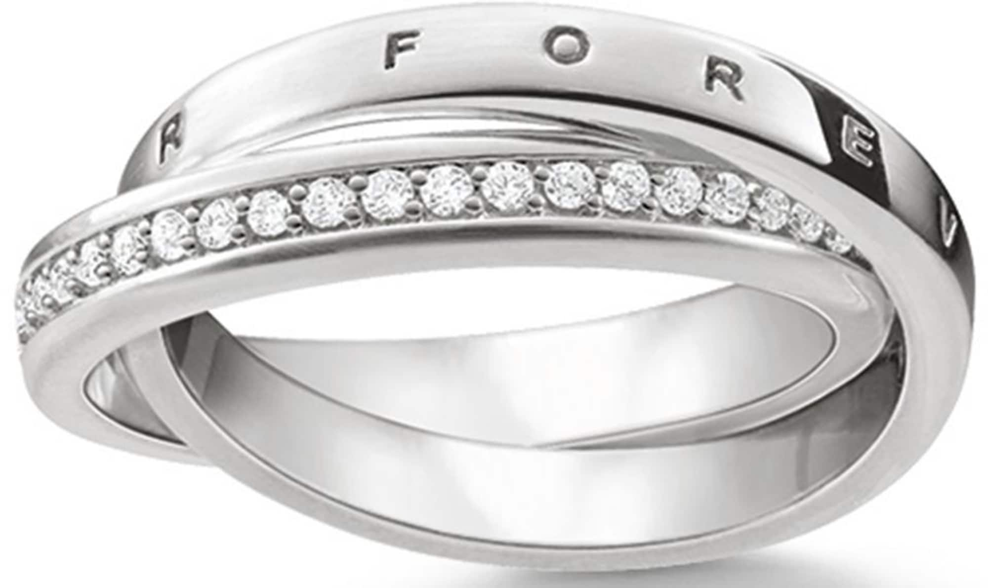 Thomas Sabo, Dames Ring 'Ring, TR2099-051-14-50, 54, 58, 60', zilver