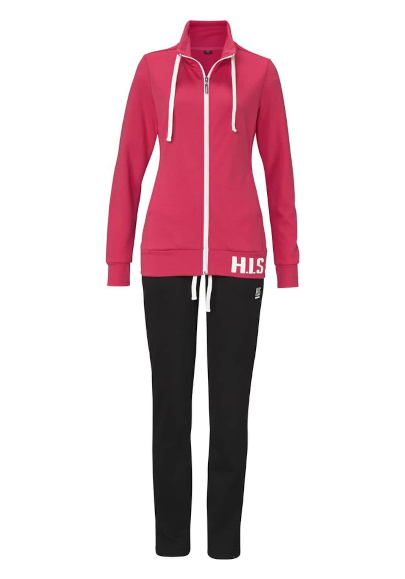 Jogginganzug | Sportbekleidung > Sportanzüge > Jogginganzüge | Schwarz | H.I.S
