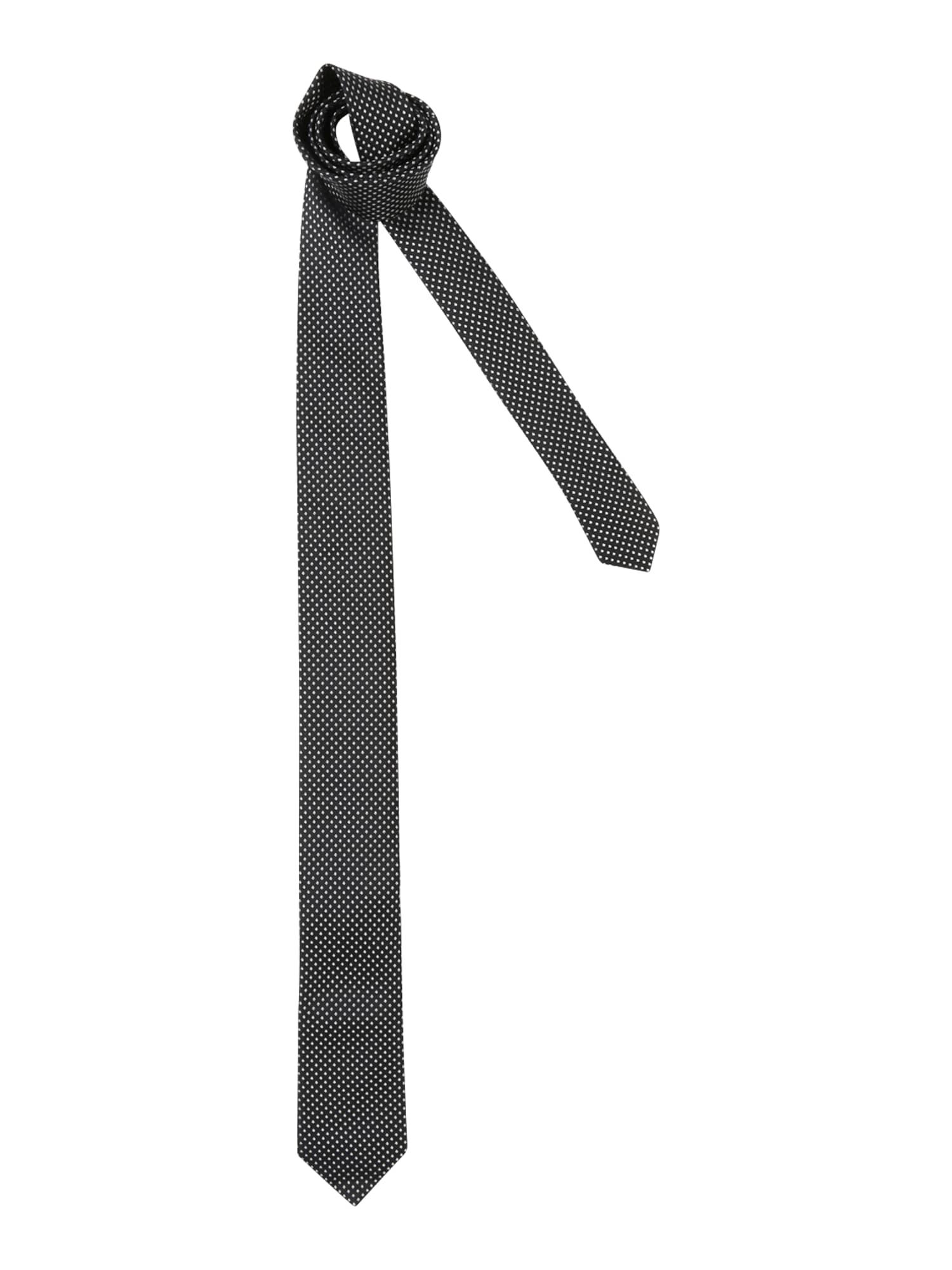 Kravata Tie cm 6 černá HUGO