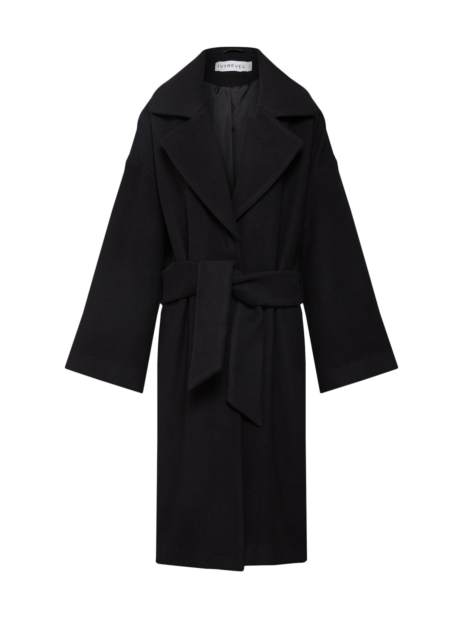 Zimní kabát KYLO černá IVYREVEL