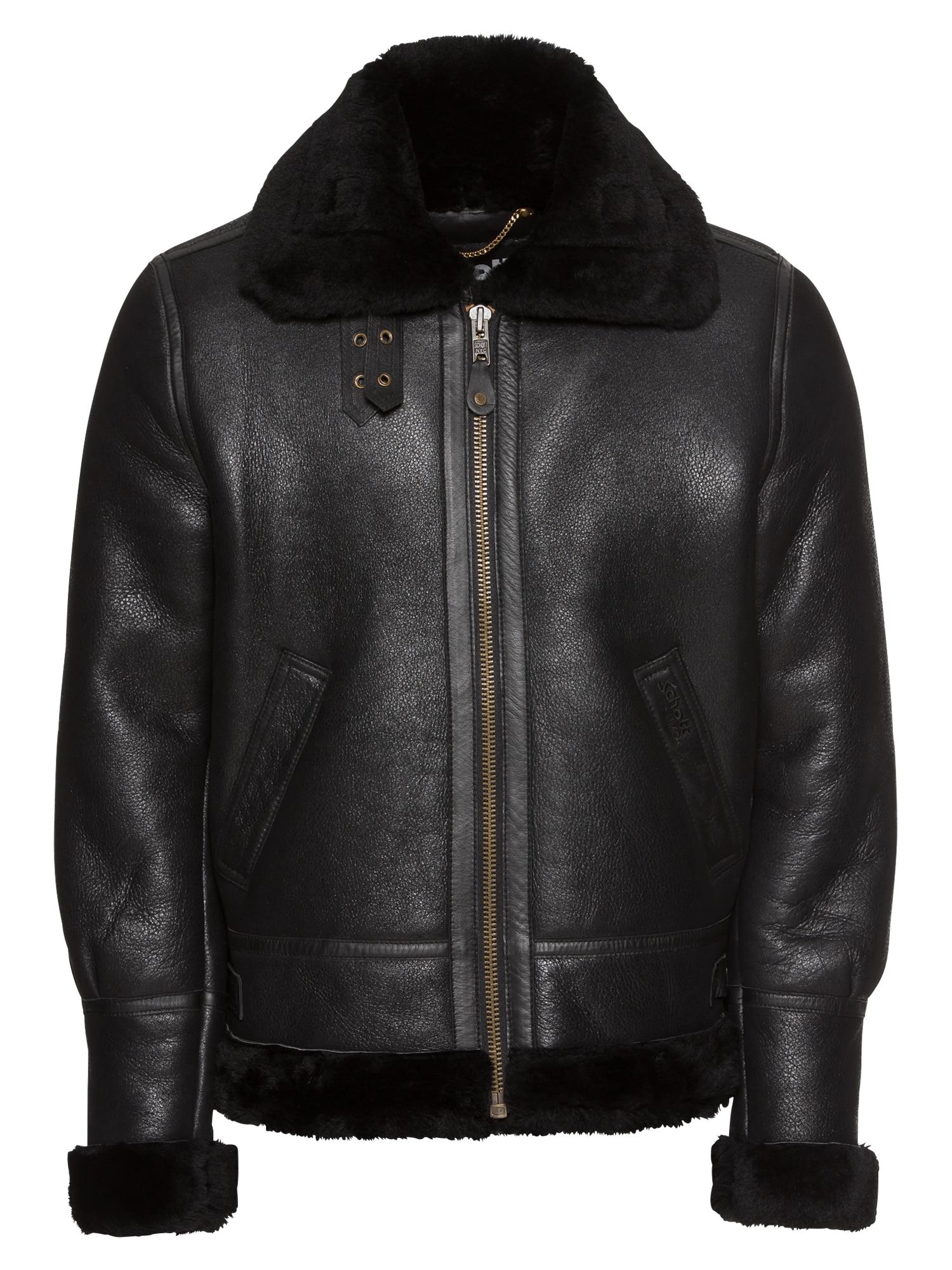 Přechodná bunda LC1259 černá Schott NYC