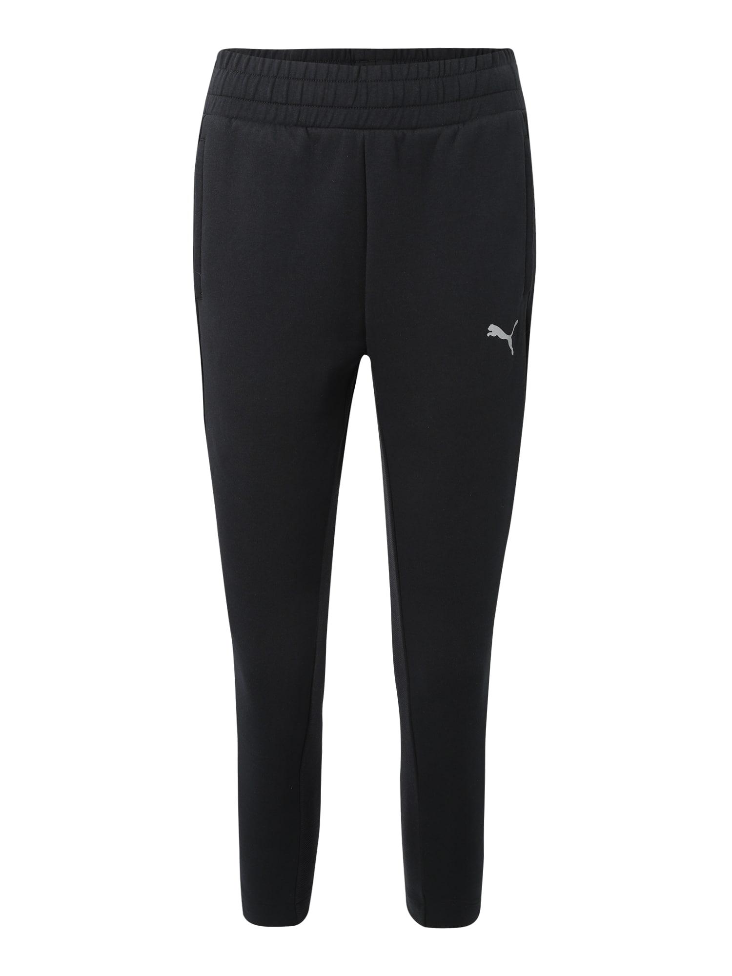 Sportovní kalhoty EVOSTRIPE Pants černá PUMA