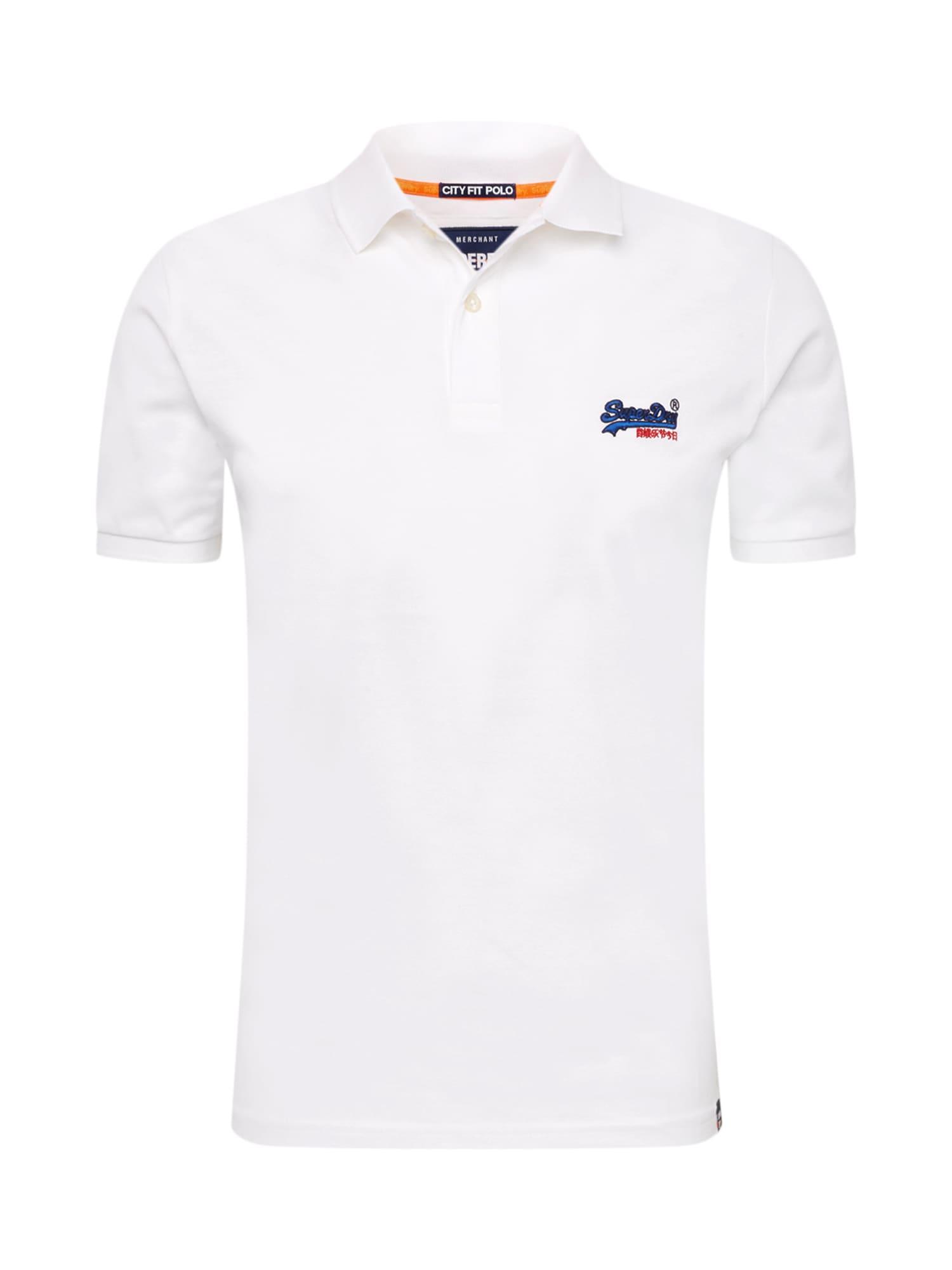 Tričko Mercerised Lite City bílá Superdry