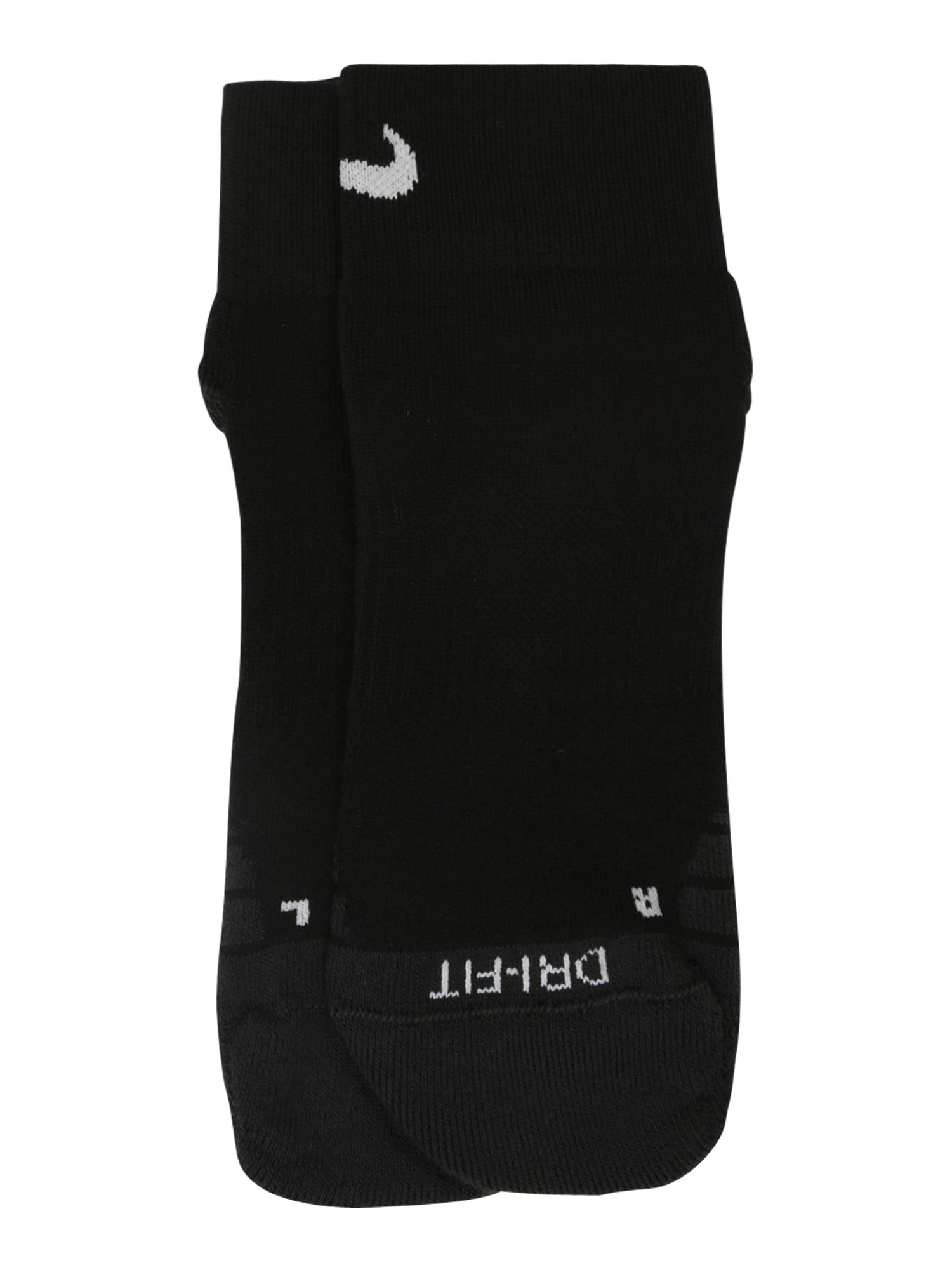 NIKE Sportovní ponožky  bílá / černá