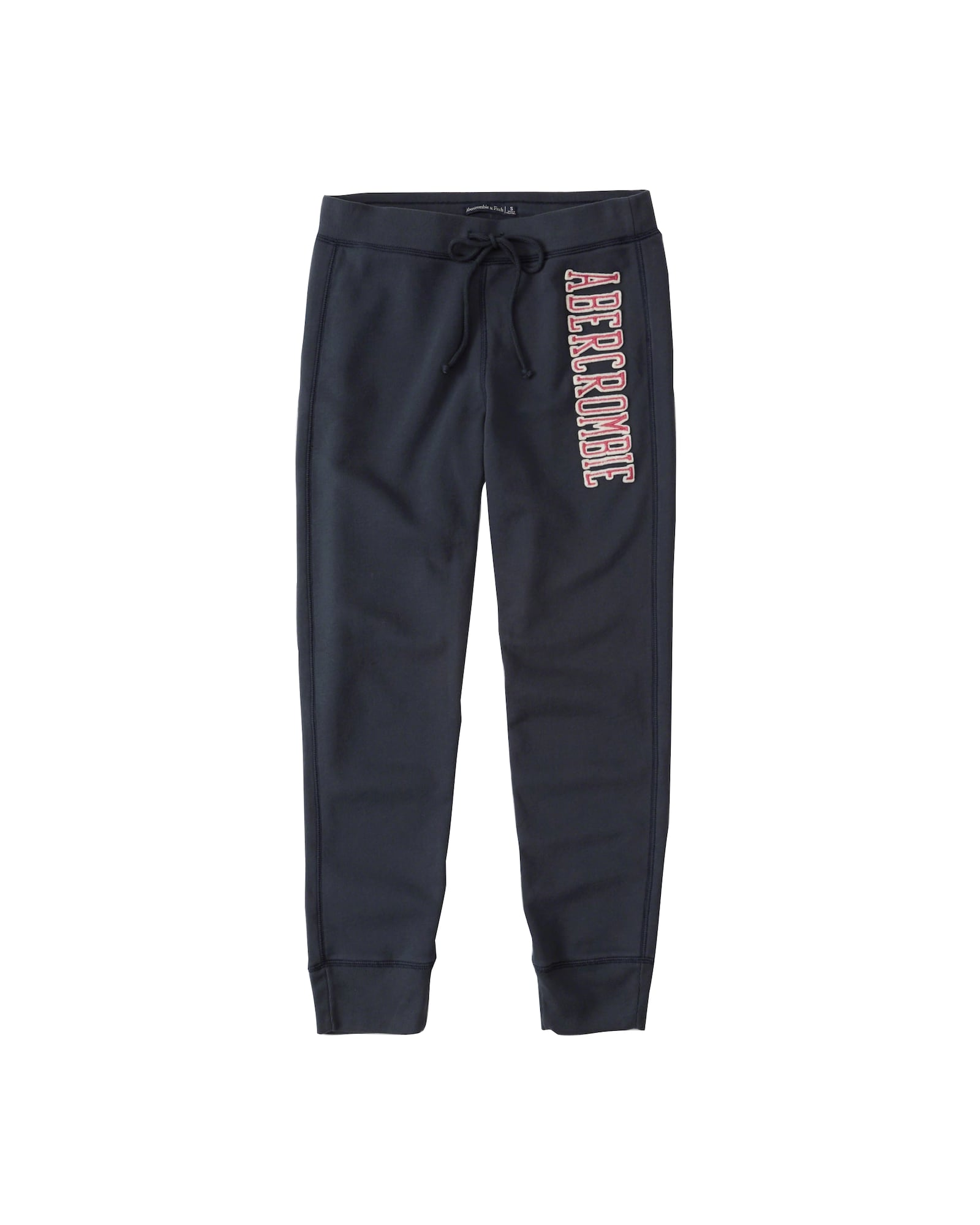 Abercrombie & Fitch, Dames Broek 'SEASONAL CORE JOGGER', navy