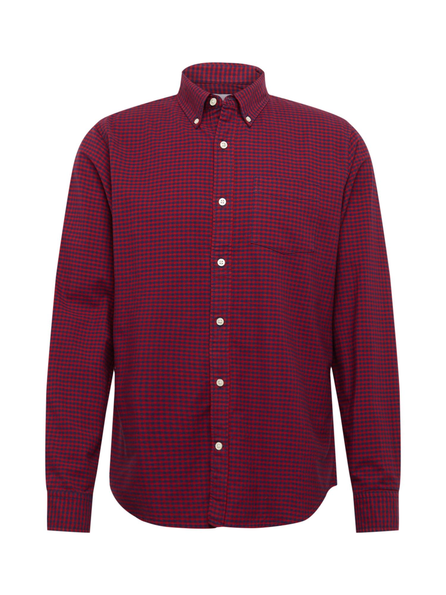 Košile OXFORD SHIRTS modrá červená GAP