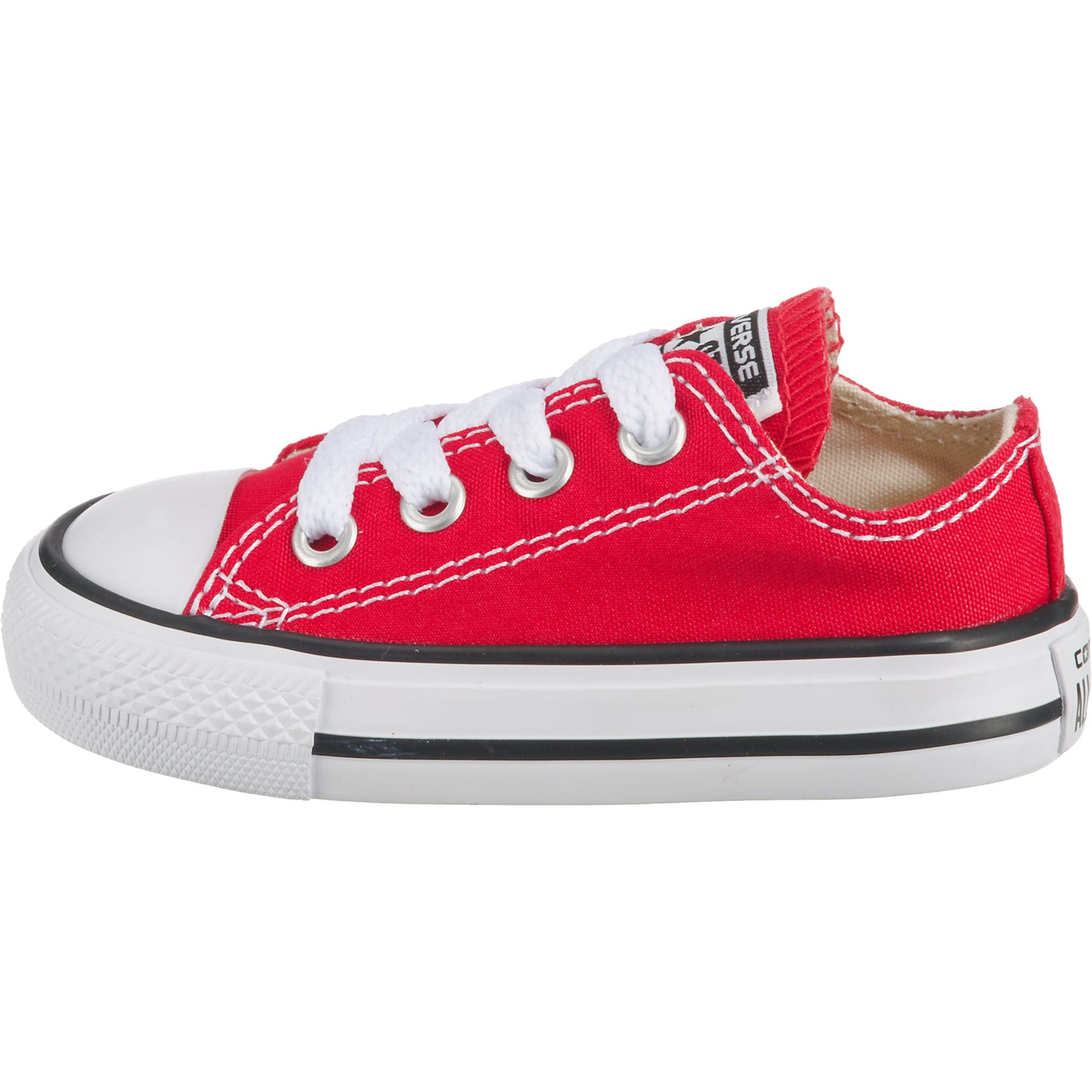 CONVERSE, Jongens Sneakers 'Chuck Taylor All Stars OX', rood - wit