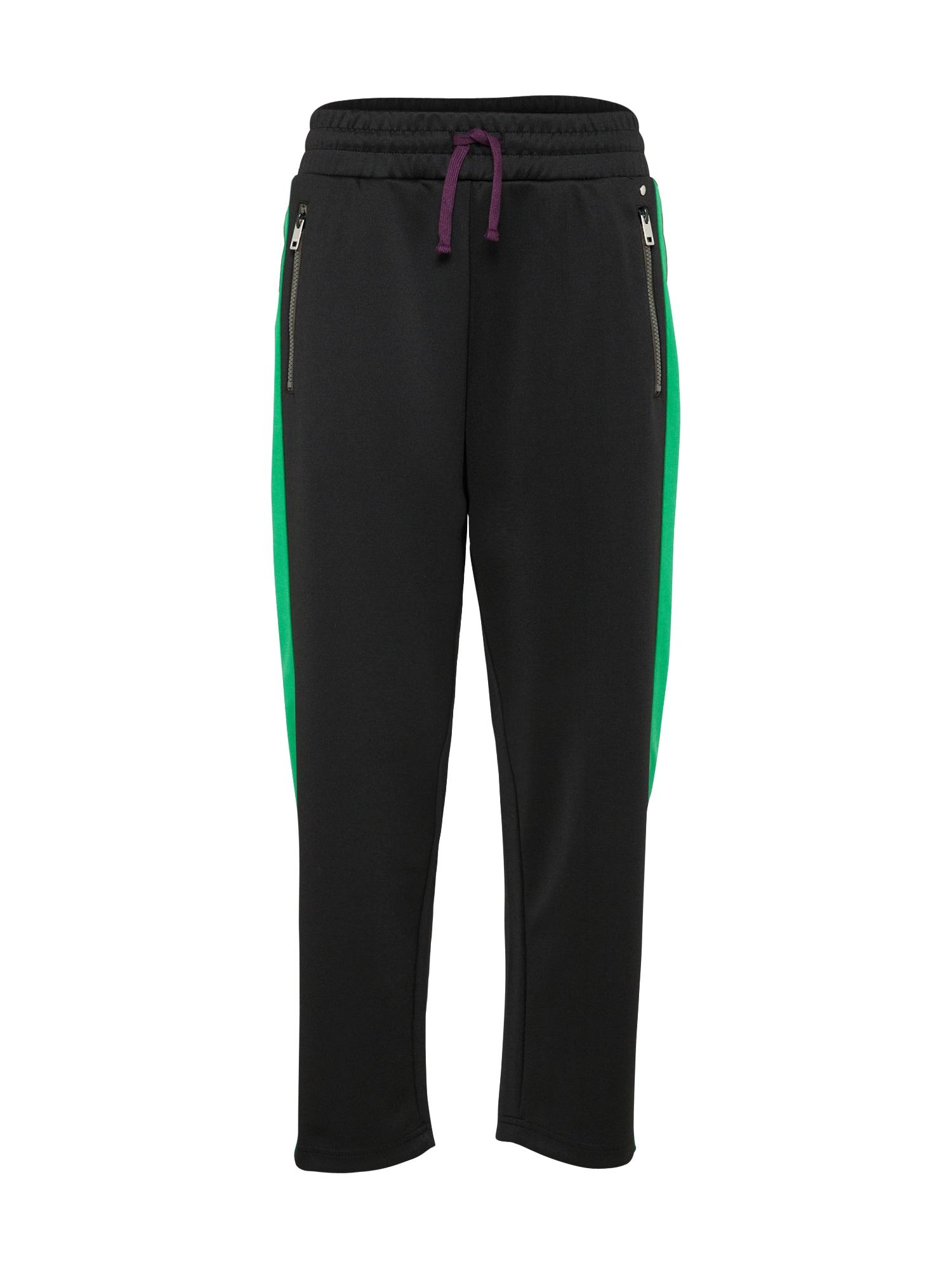 DIESEL Dames Broek P-LOGAN-A groen zwart