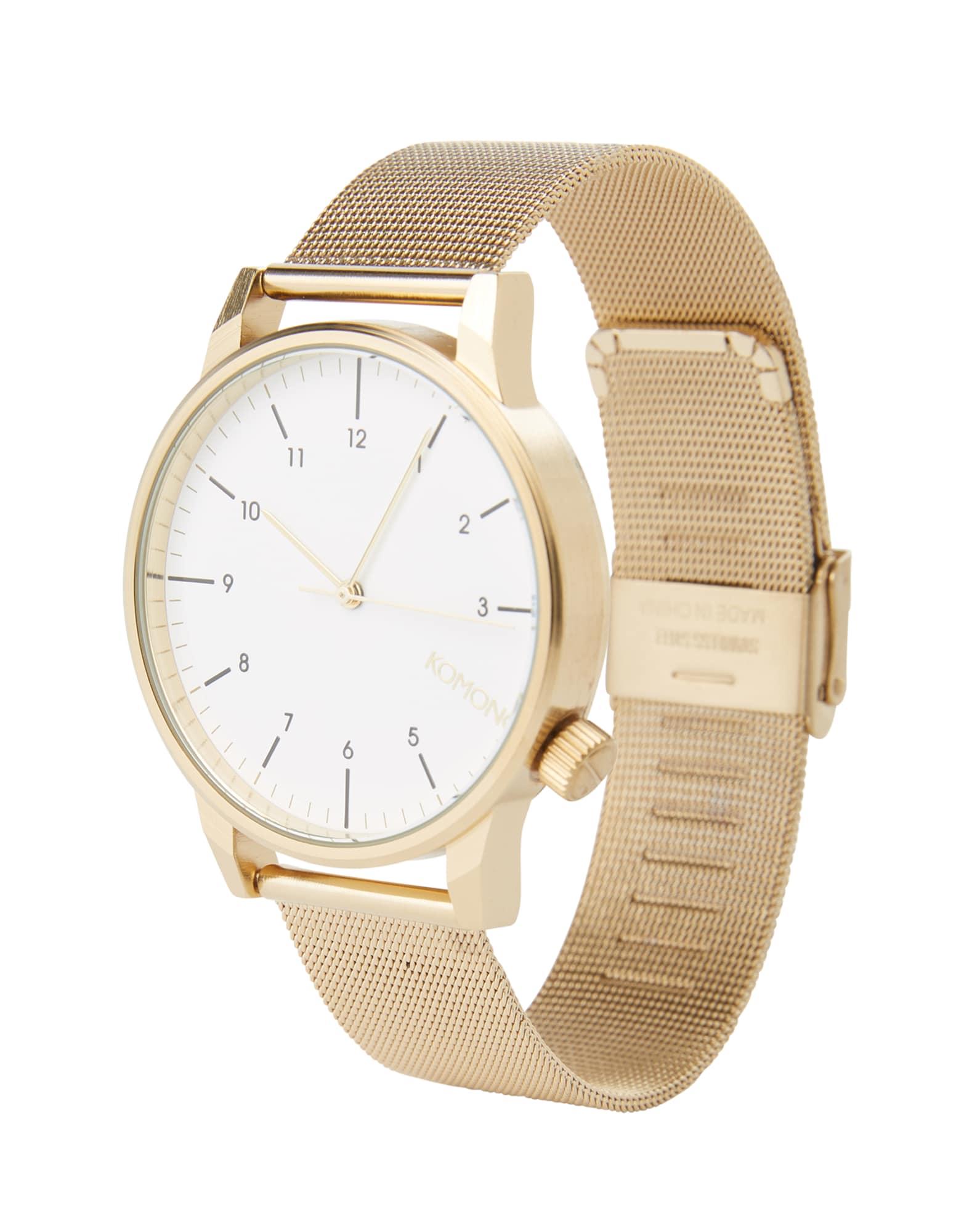 Analogové hodinky Winston Royale zlatá Komono