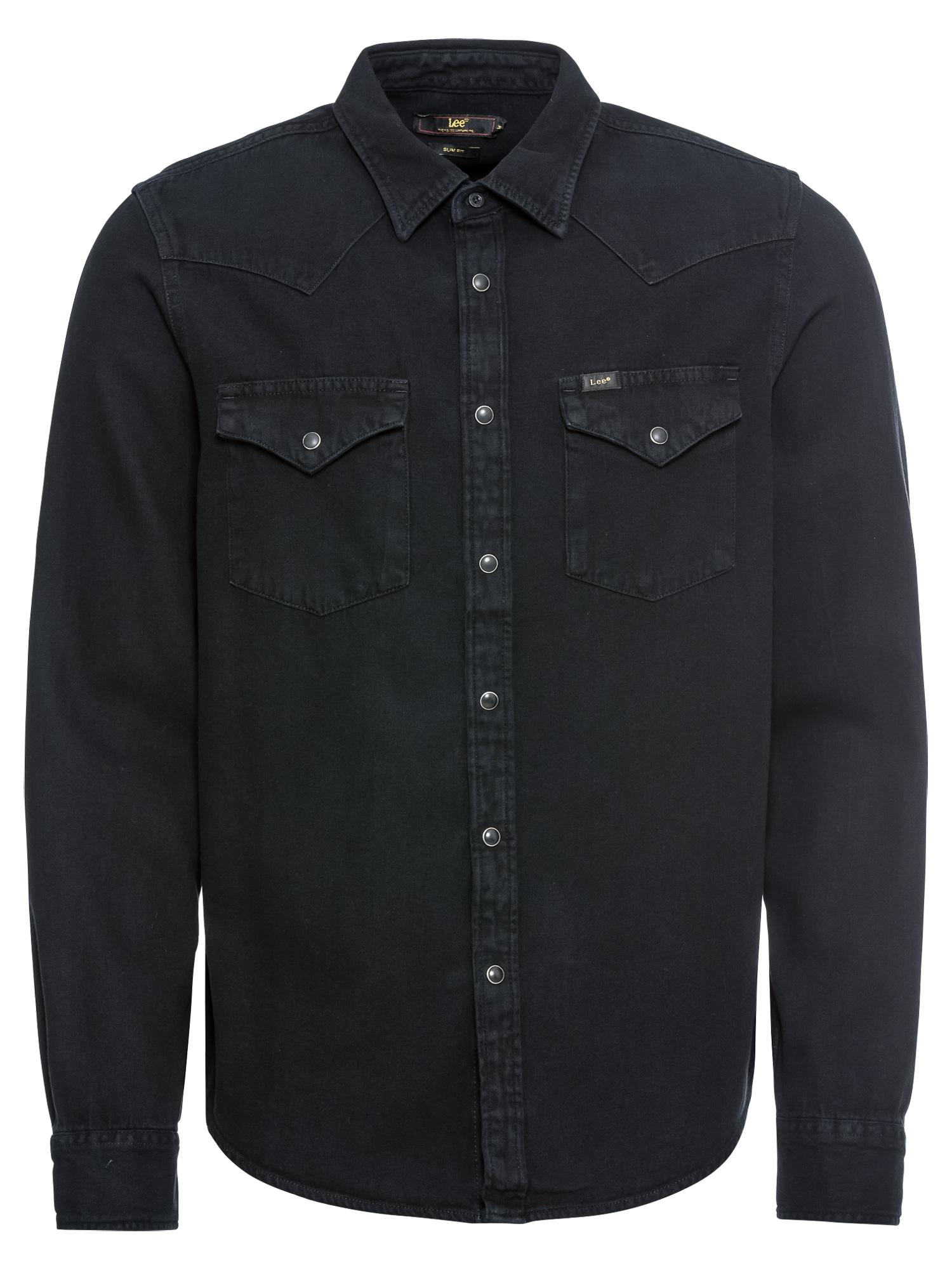 Košile WESTERN černá Lee