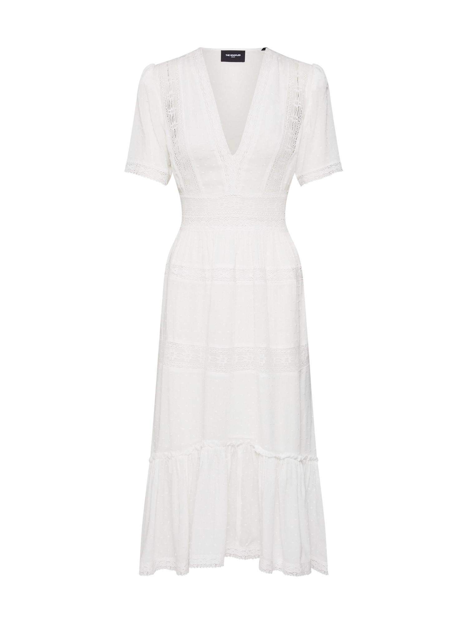 Letní šaty bílá The Kooples