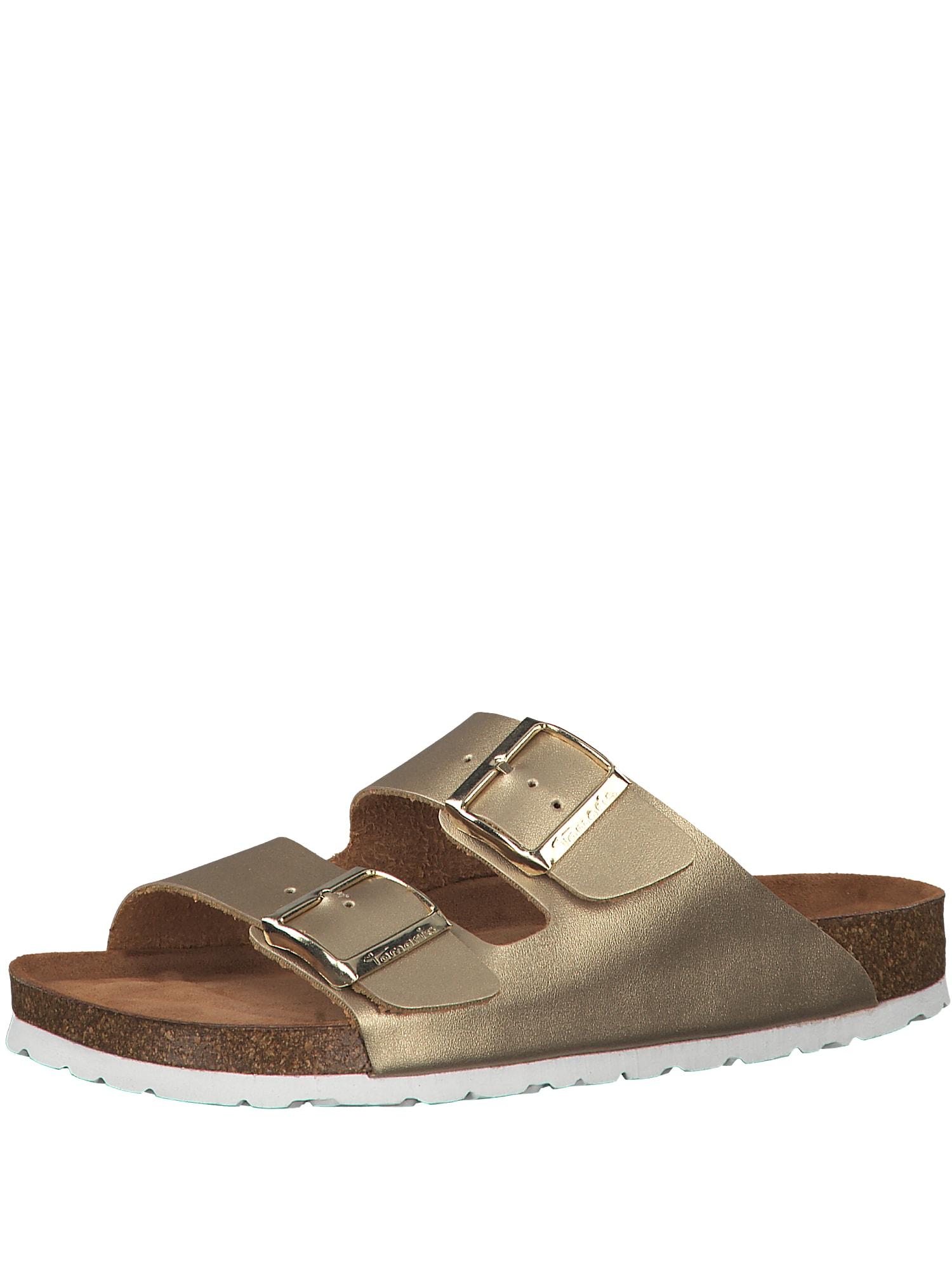 Pantofle zlatá TAMARIS