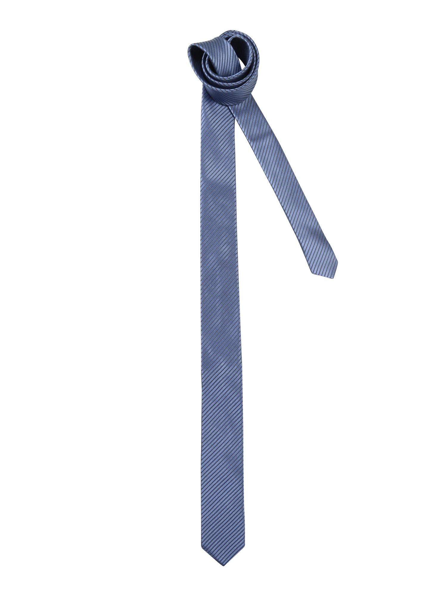 Kravata TIE SLIM modrá DRYKORN