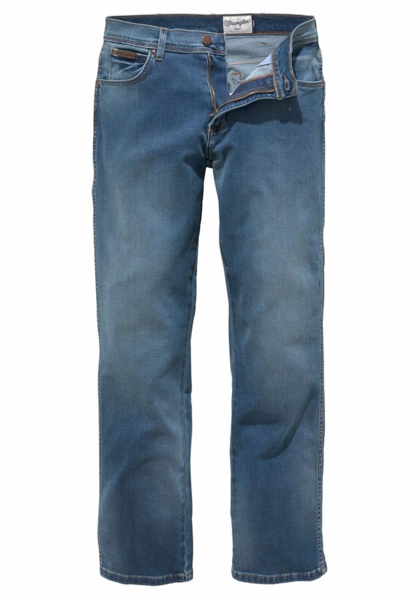 WRANGLER Heren Jeans Texas blue denim