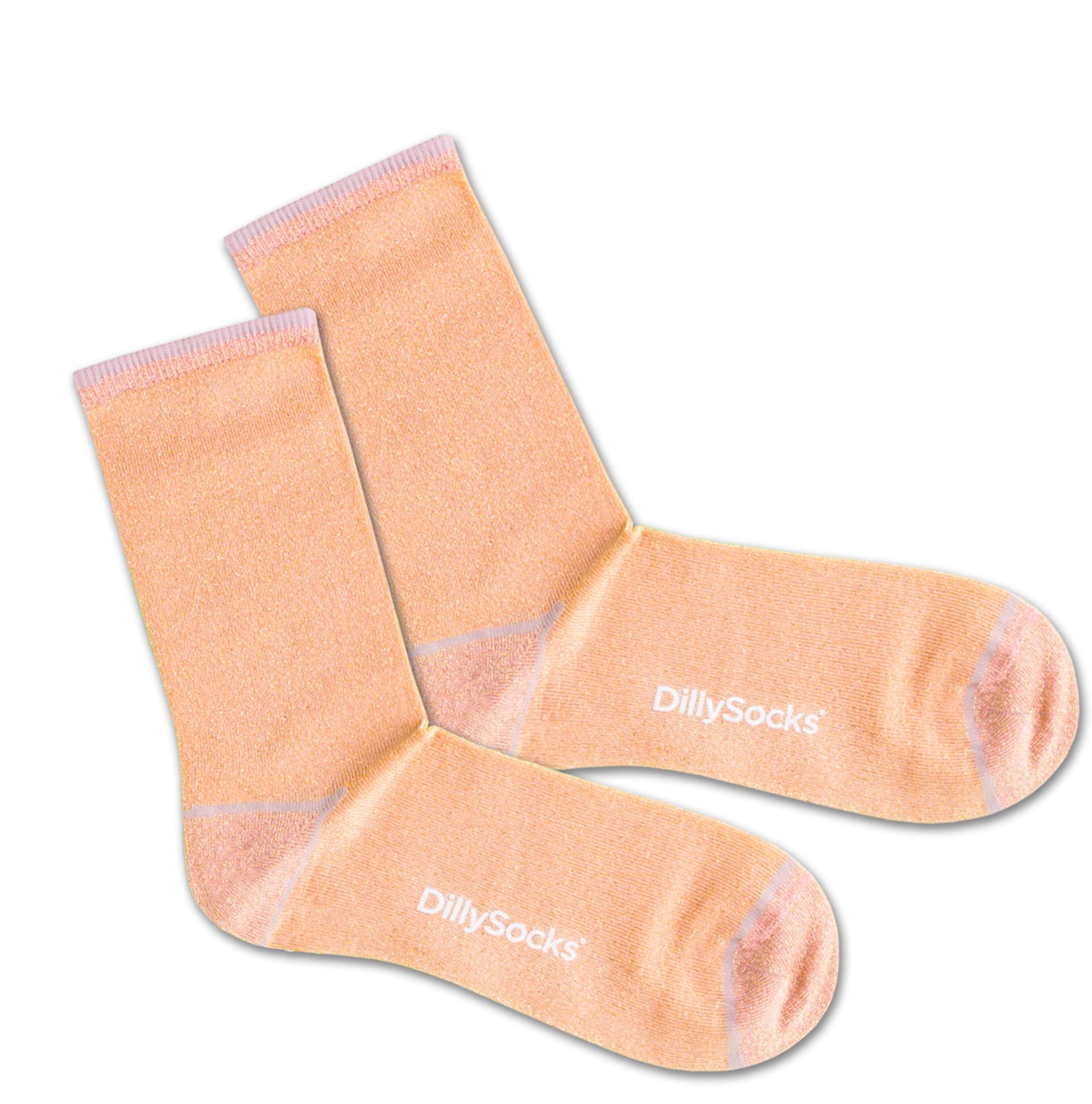 Ponožky Sweet Blossom béžová DillySocks