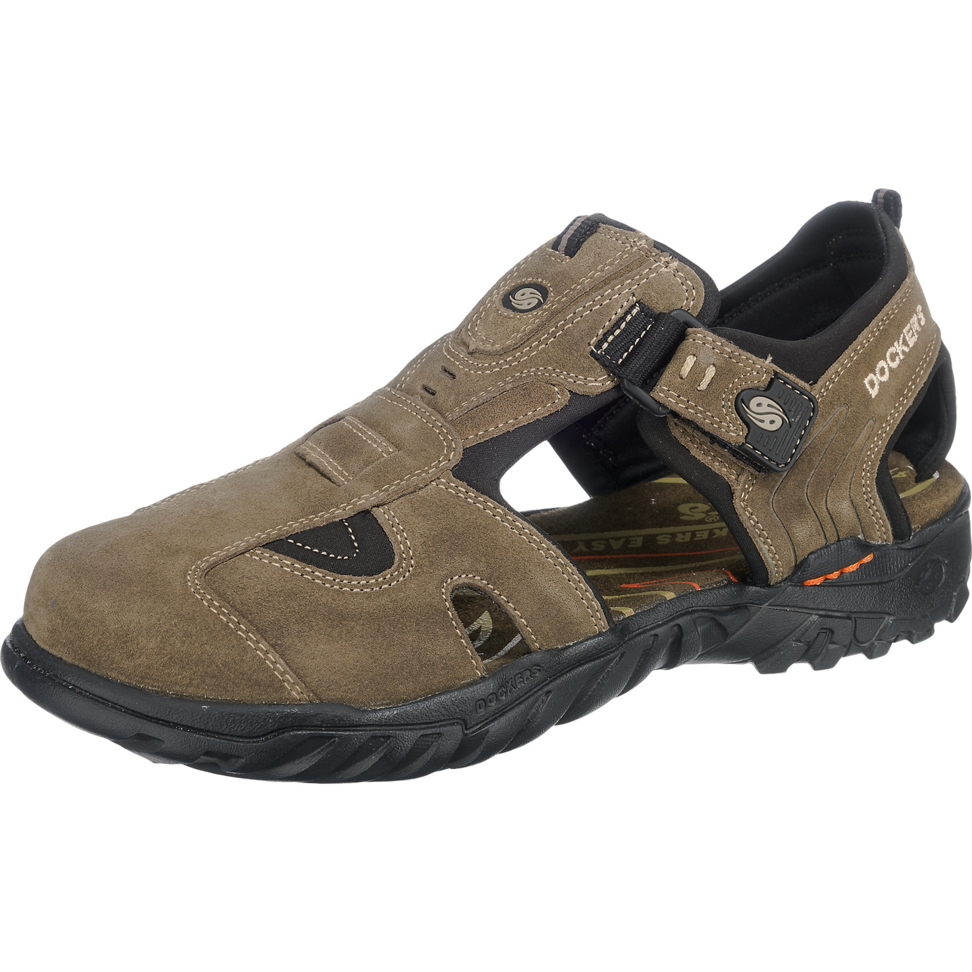 Halbgeschlossene Outdoor-Sandale
