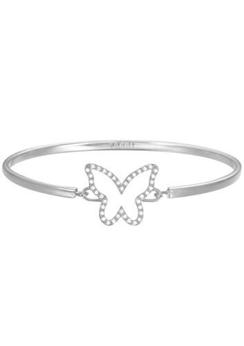 Armreif mit Strasssteinen, »Schmetterling, ESPRIT-JW50219, ESBA01179A600«