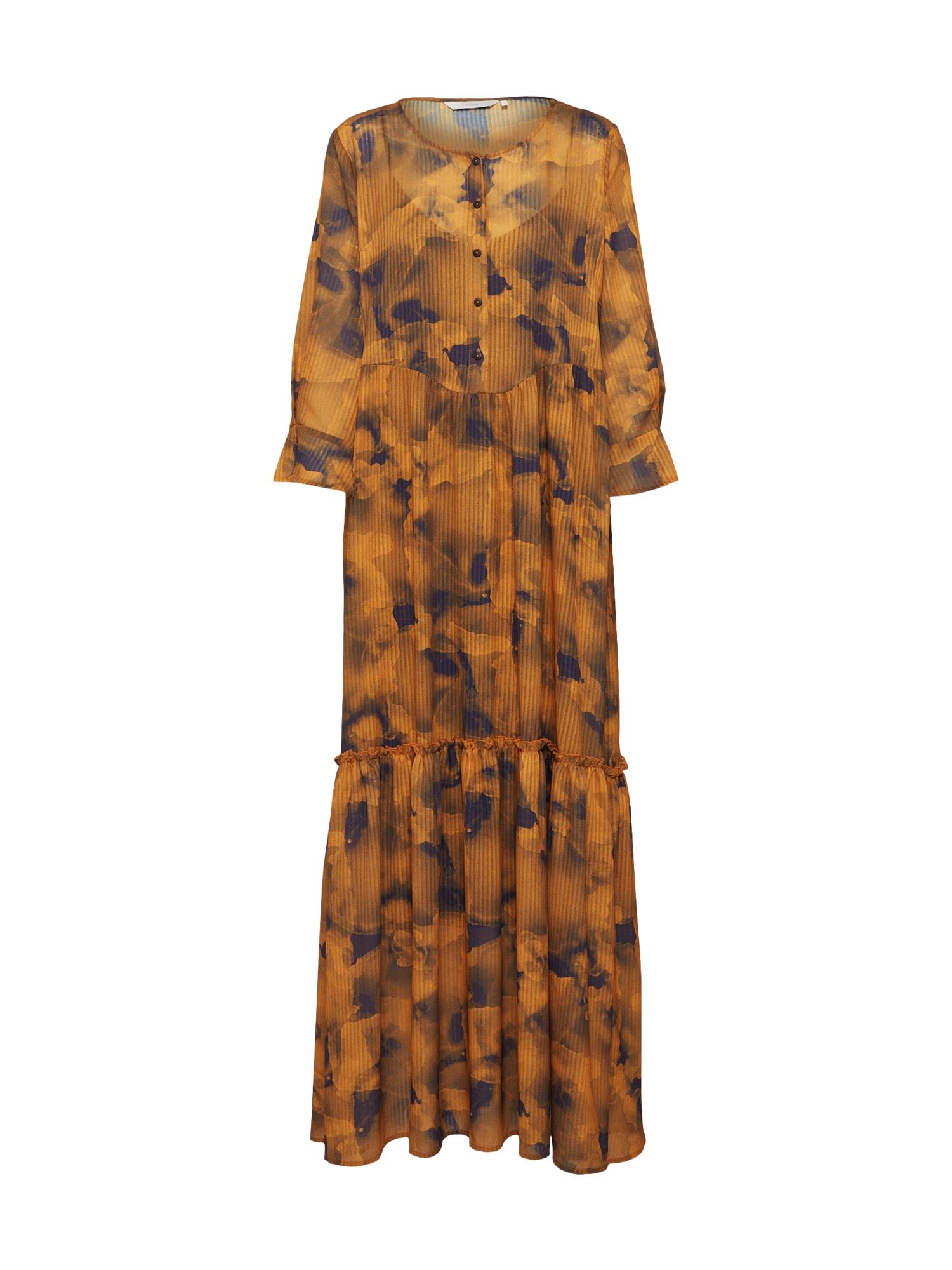 Košilové šaty Leighton zlatě žlutá NÜMPH