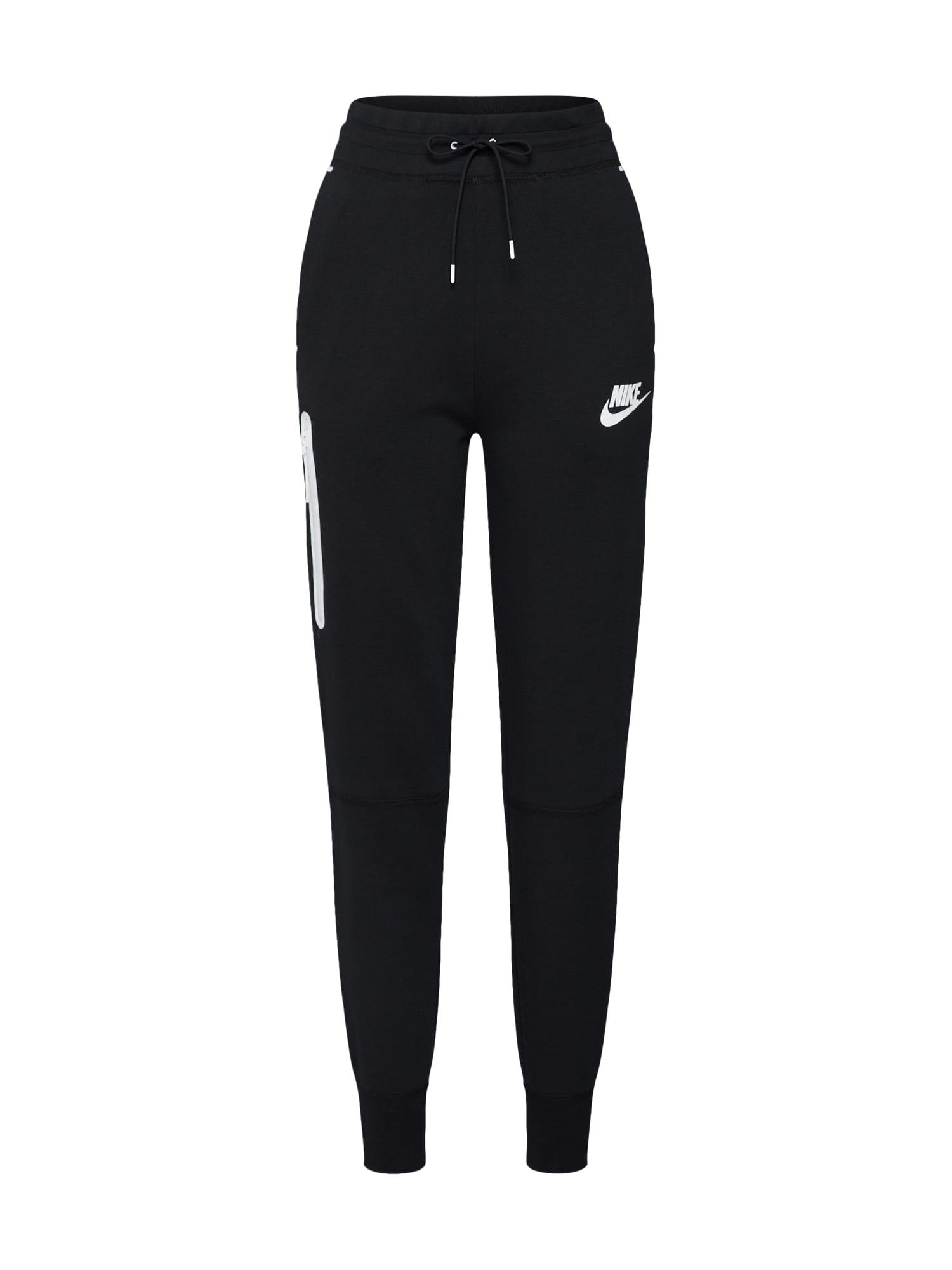 Kalhoty černá bílá Nike Sportswear