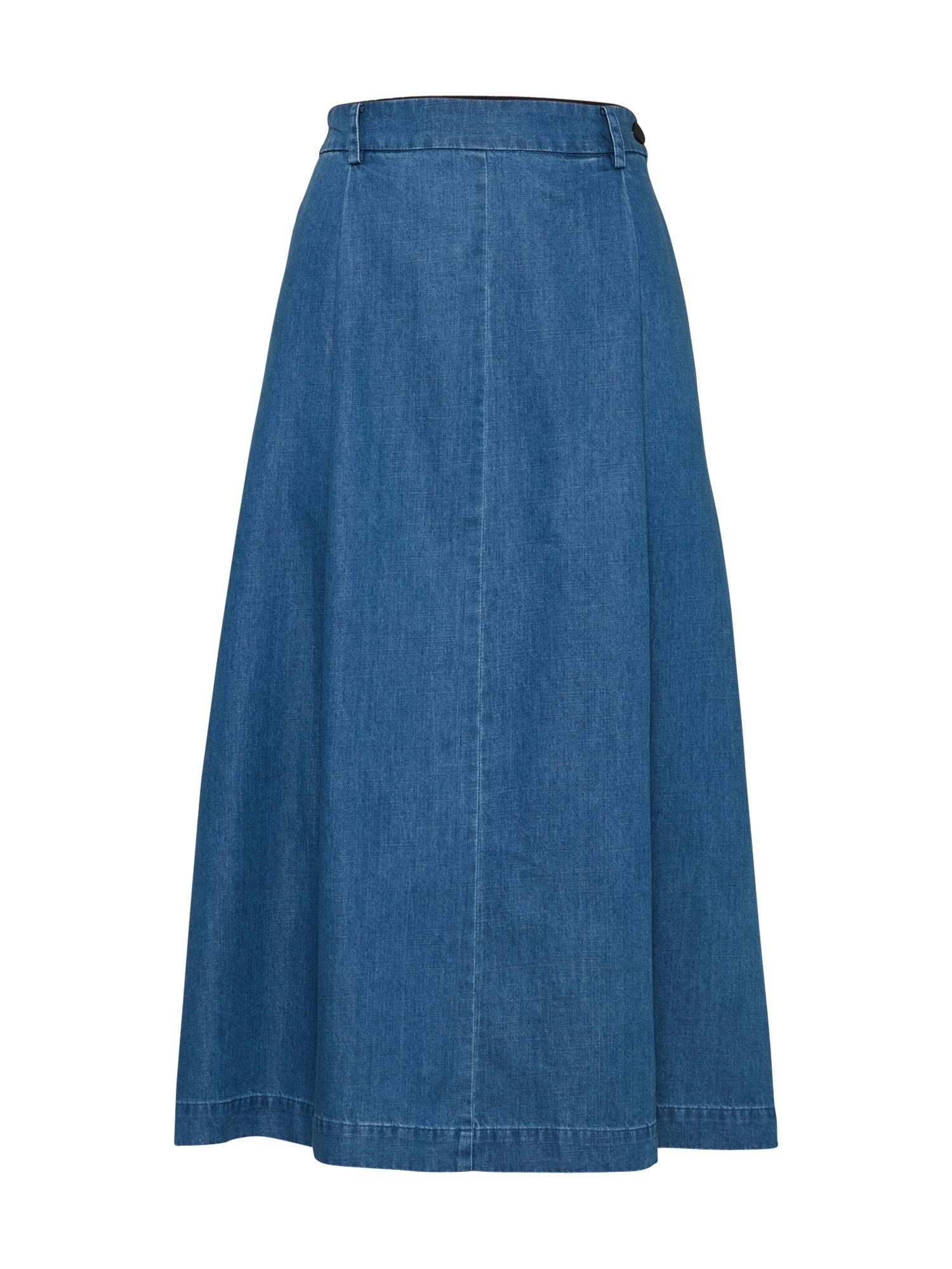Sukně modrá džínovina DENHAM