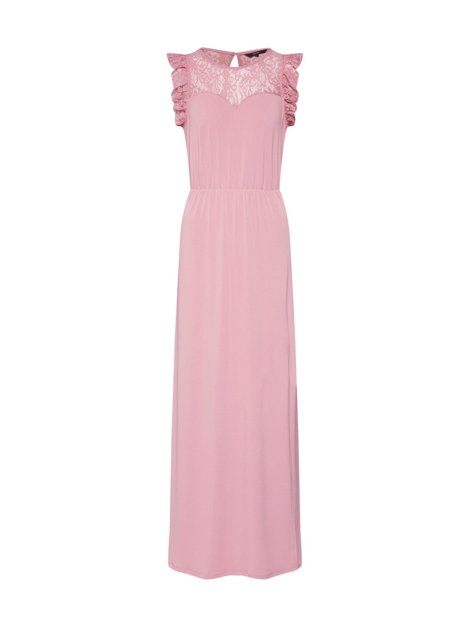 Společenské šaty Alberta Sweetheart pink VERO MODA