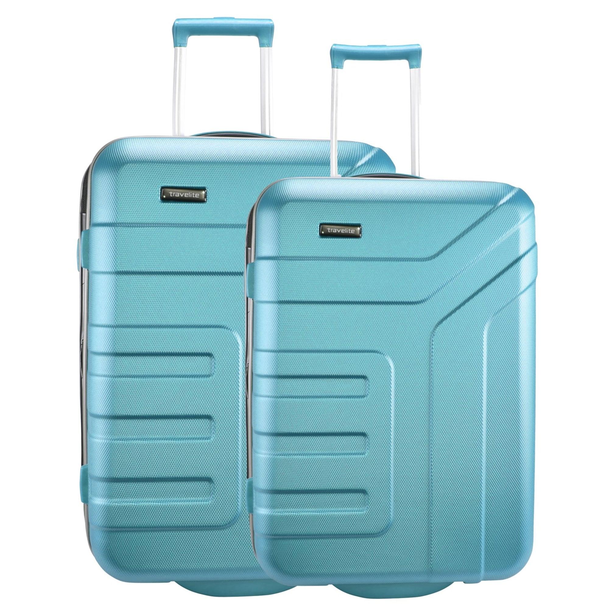 Kofferset 2tlg. | Taschen > Koffer & Trolleys > Koffersets | Türkis | Travelite