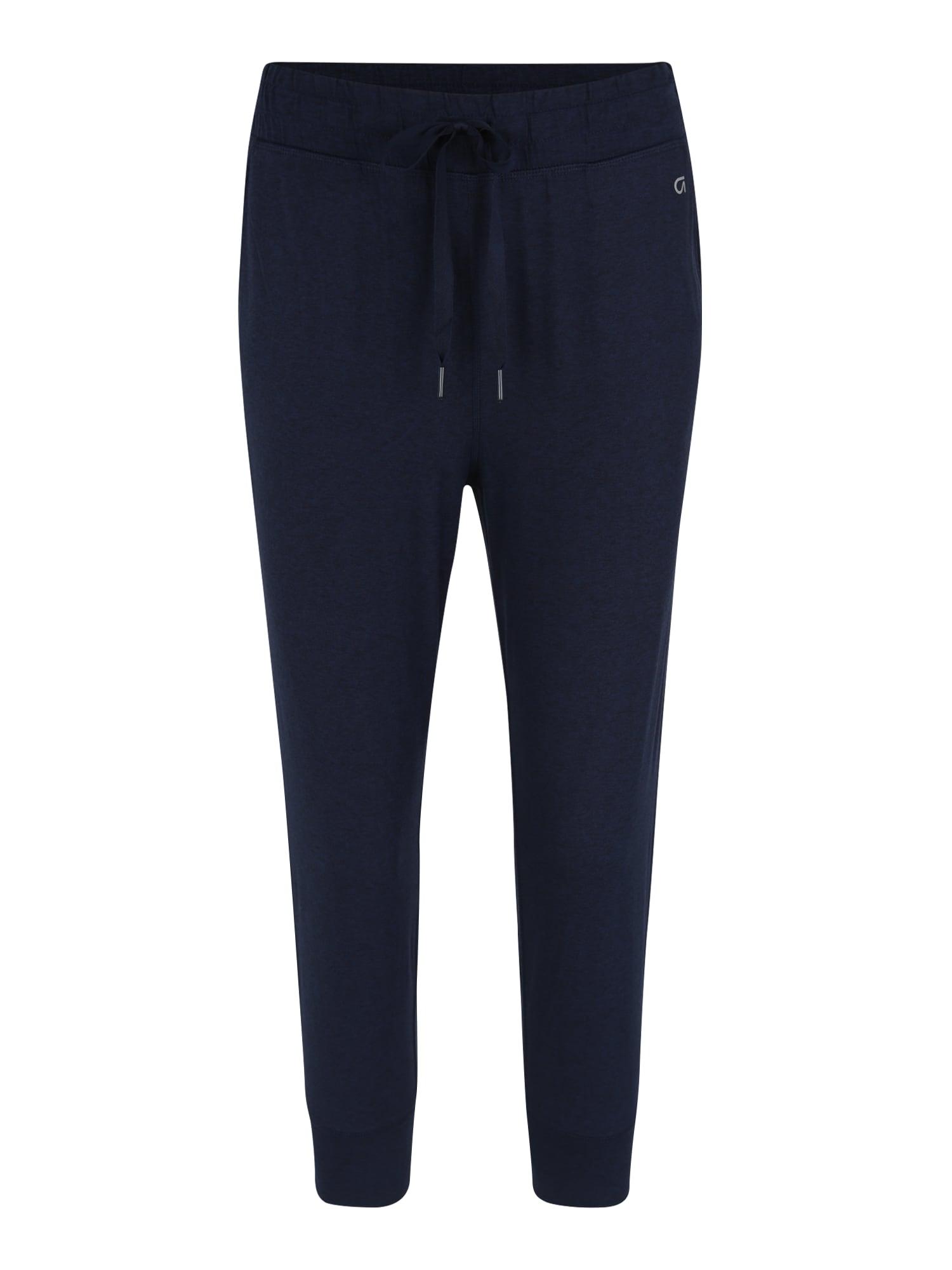 Sportovní kalhoty tmavě modrá GAP
