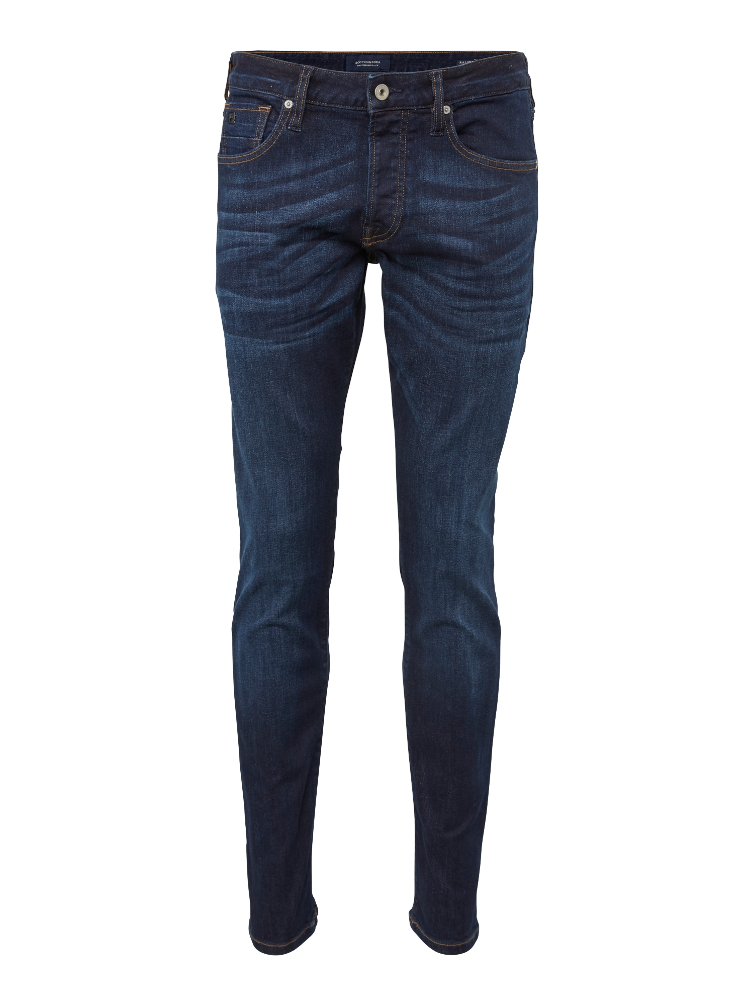 SCOTCH  and  SODA Heren Jeans Ralston Beaten Back blue denim