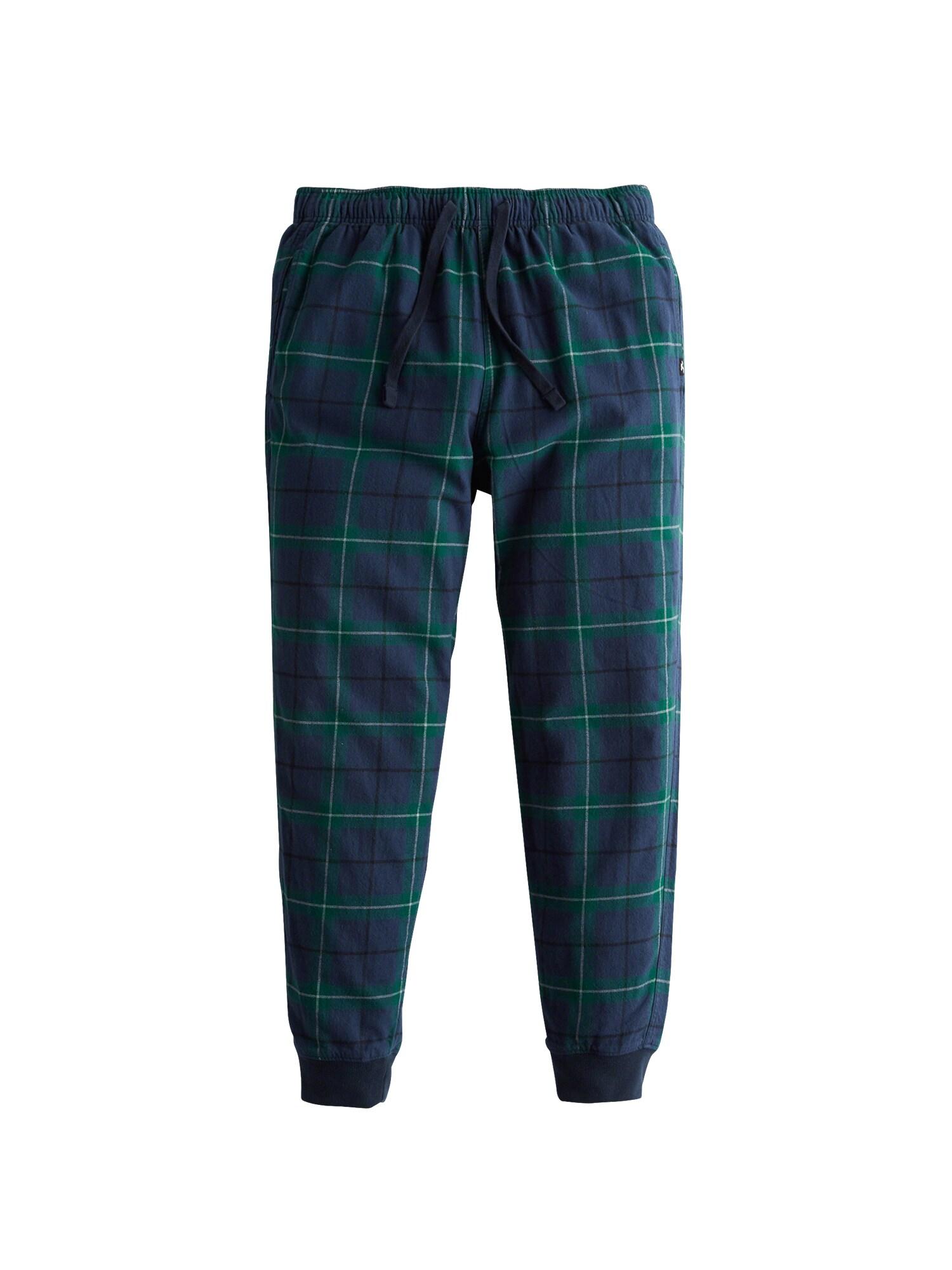 Pyžamové kalhoty noční modrá zelená HOLLISTER