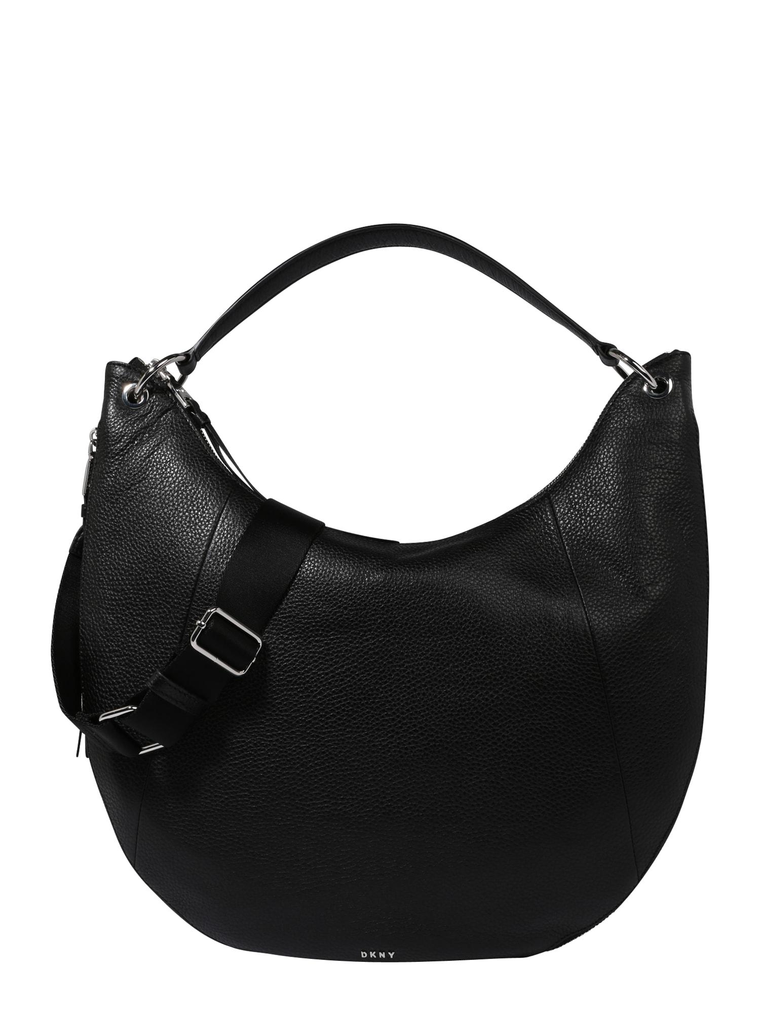 Tasche 'TOMPSON'   Taschen > Handtaschen > Sonstige Handtaschen   Schwarz - Silber   DKNY