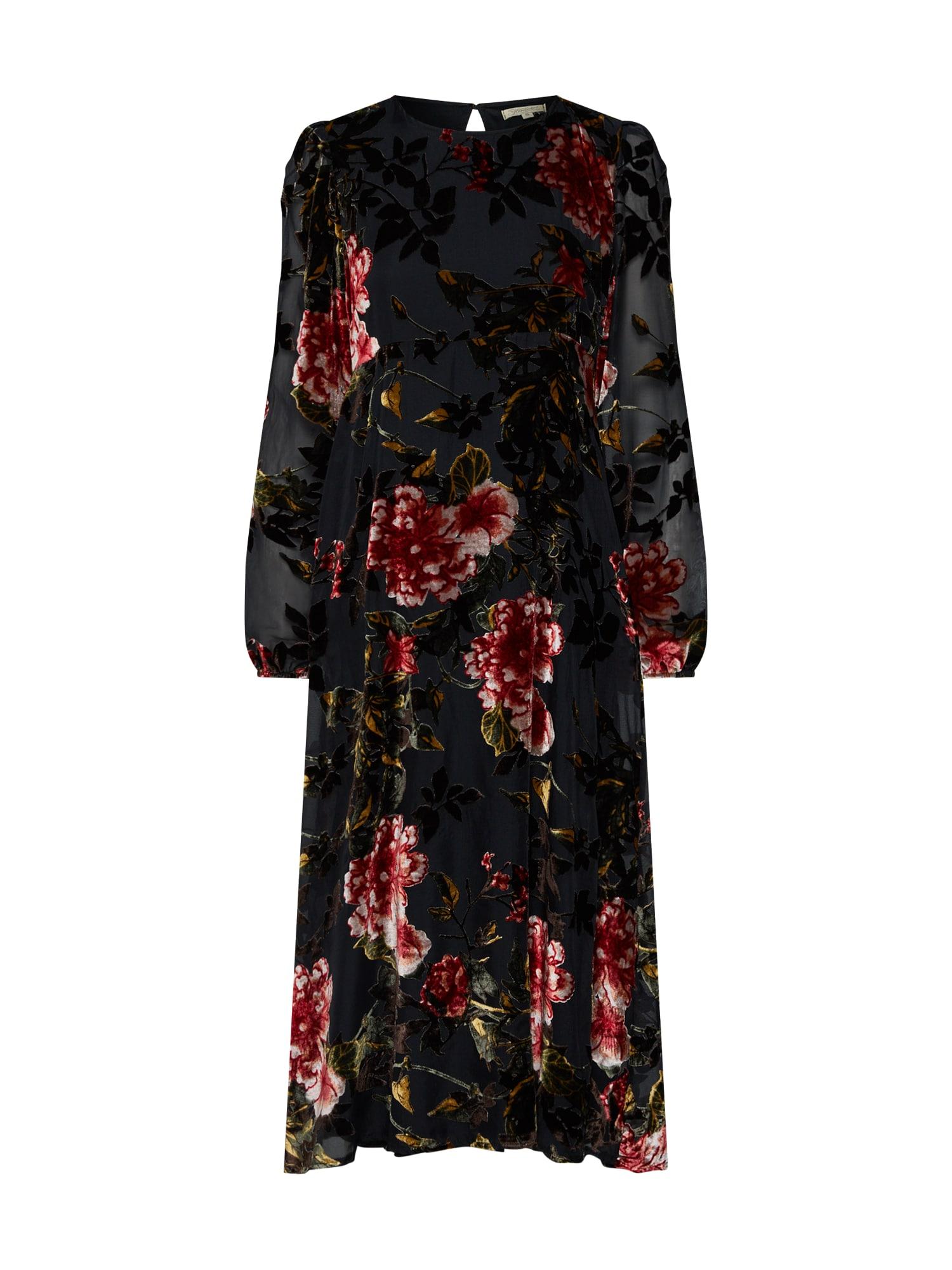 Šaty červená černá Herrlicher