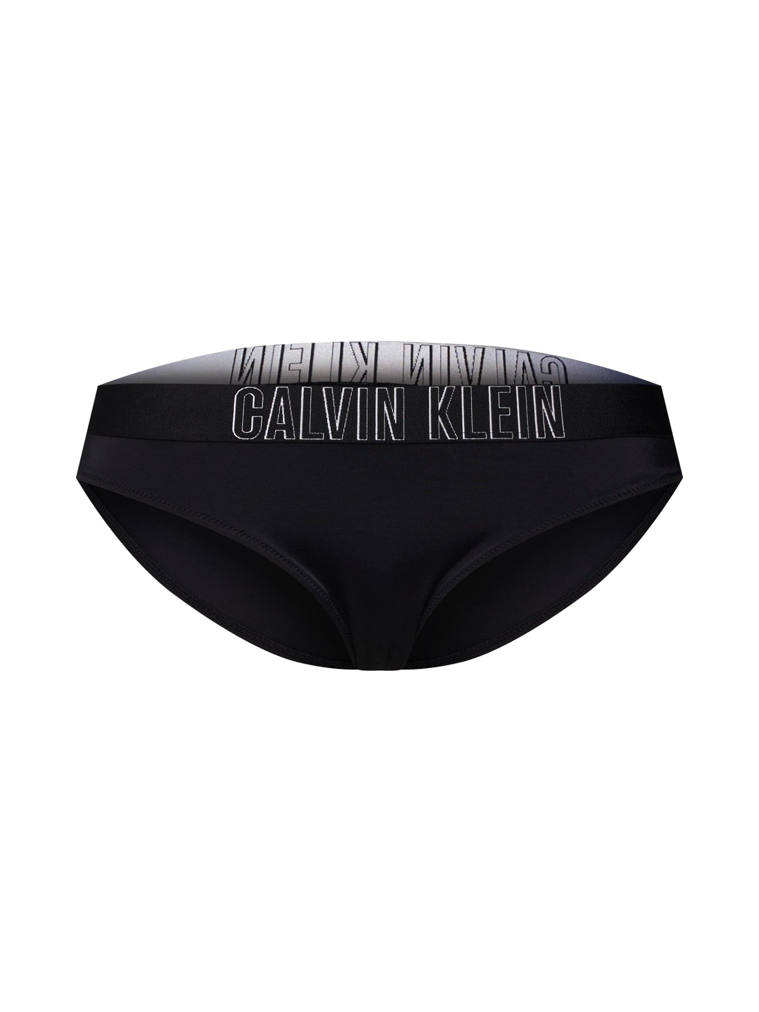 Spodní díl plavek Classic černá Calvin Klein Swimwear