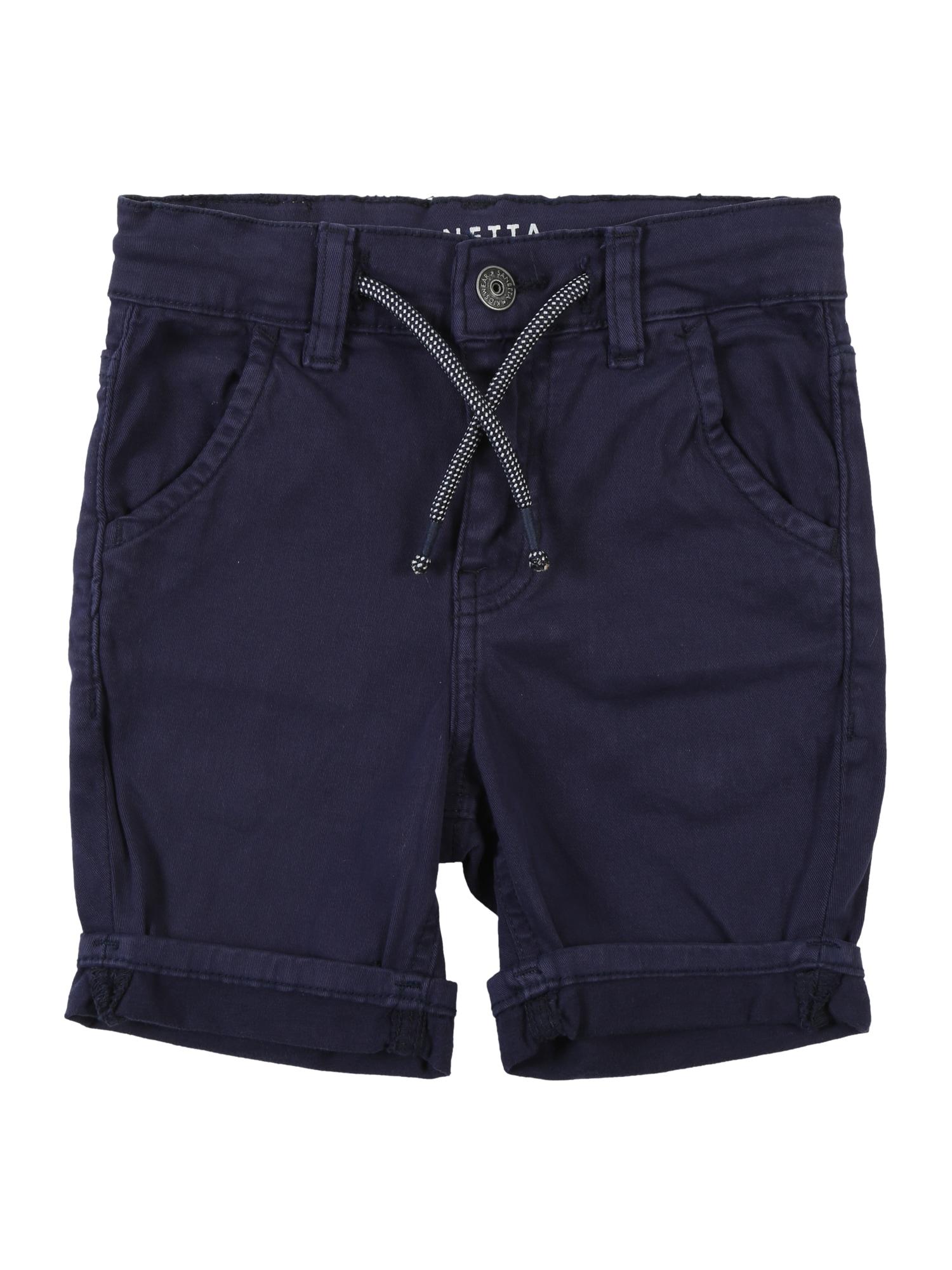 Kalhoty modrá Sanetta Kidswear