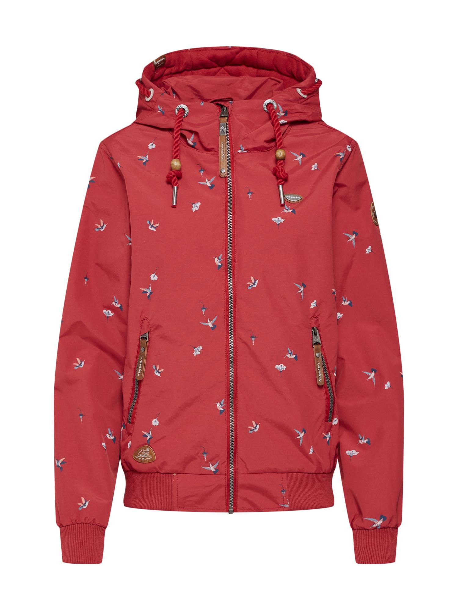 Funkční bunda Nuggie Birds mix barev červená Ragwear