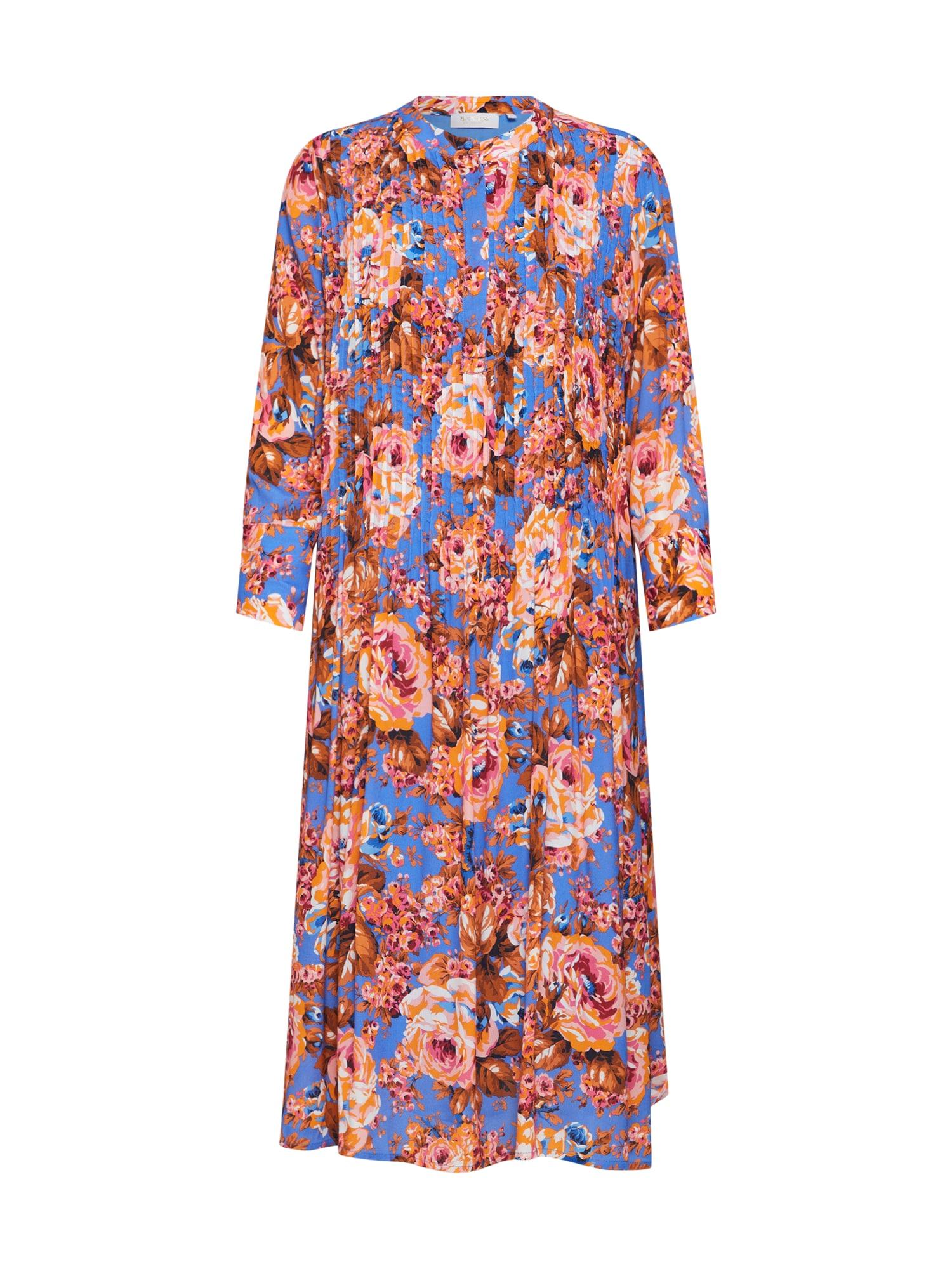 Košilové šaty Dress with Pin Tucks mix barev Rich & Royal
