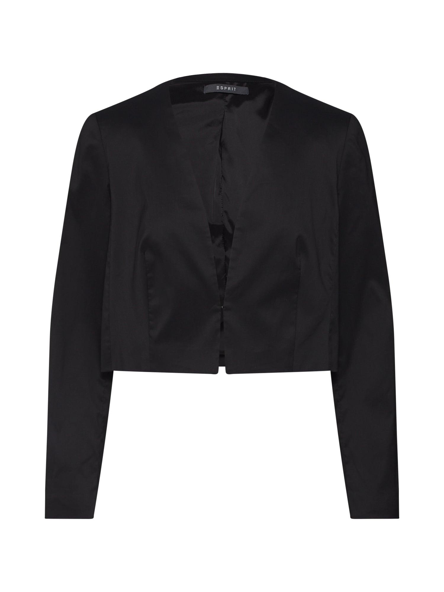 Blejzr Jkt over Dress černá Esprit Collection