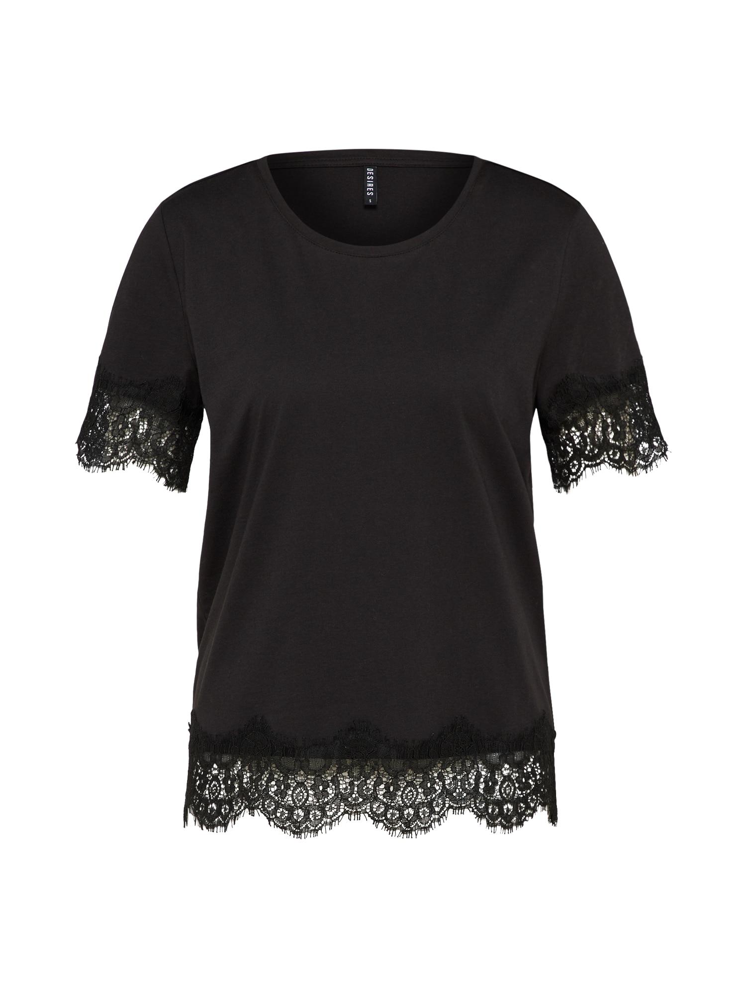 Tričko černá Desires