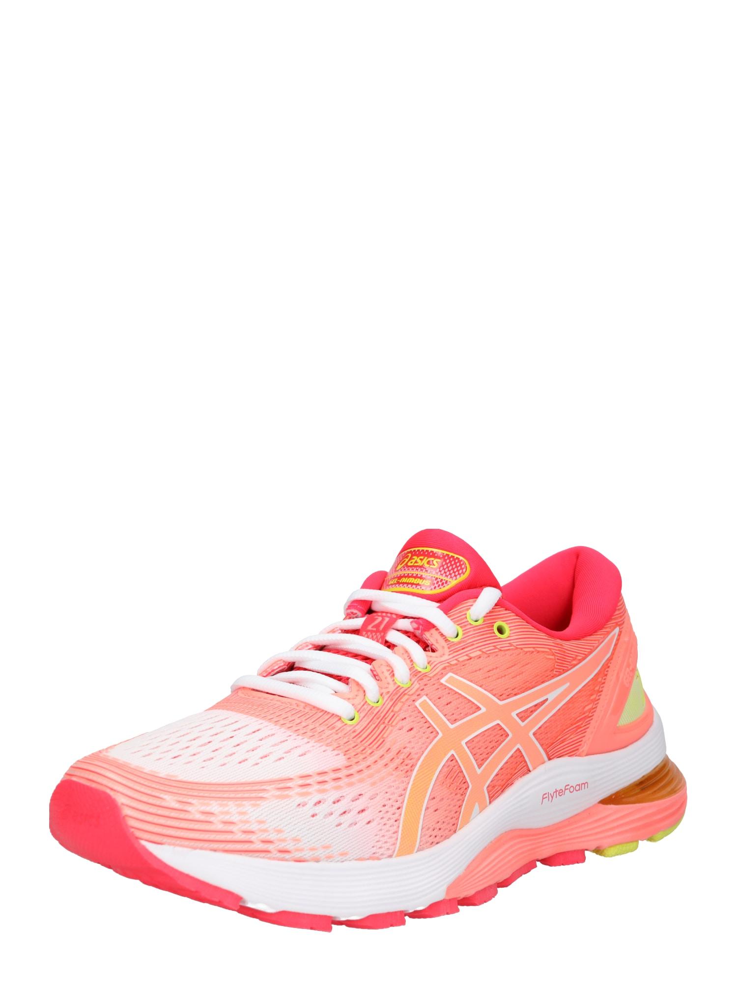 Sportovní boty Gel-Nimbus 21 žlutá oranžová pink bílá ASICS
